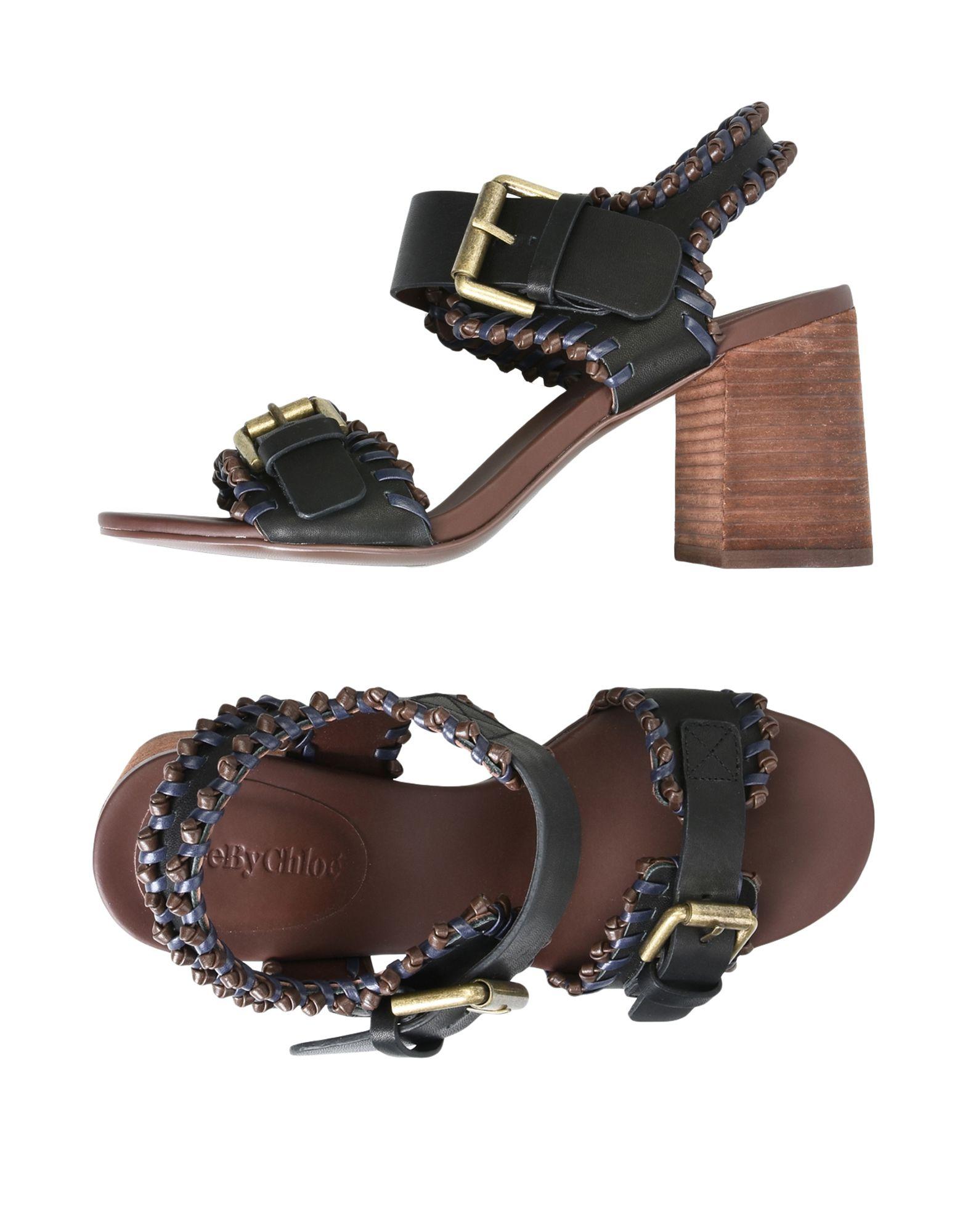 See By Chloé Sandalen Damen  11380298GRGünstige gut aussehende Schuhe