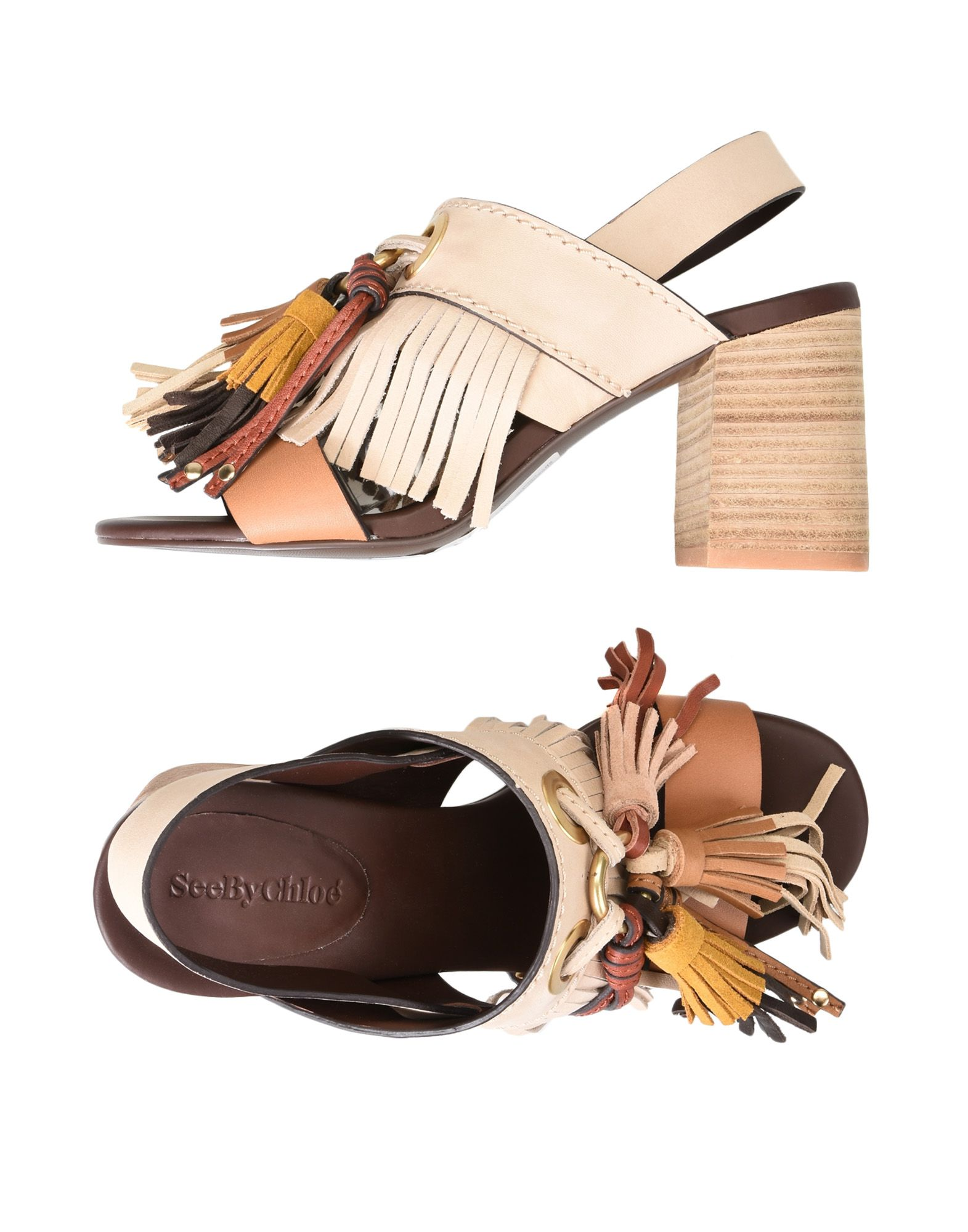 See By Chloé Sandalen Damen  11380335INGünstige gut aussehende Schuhe