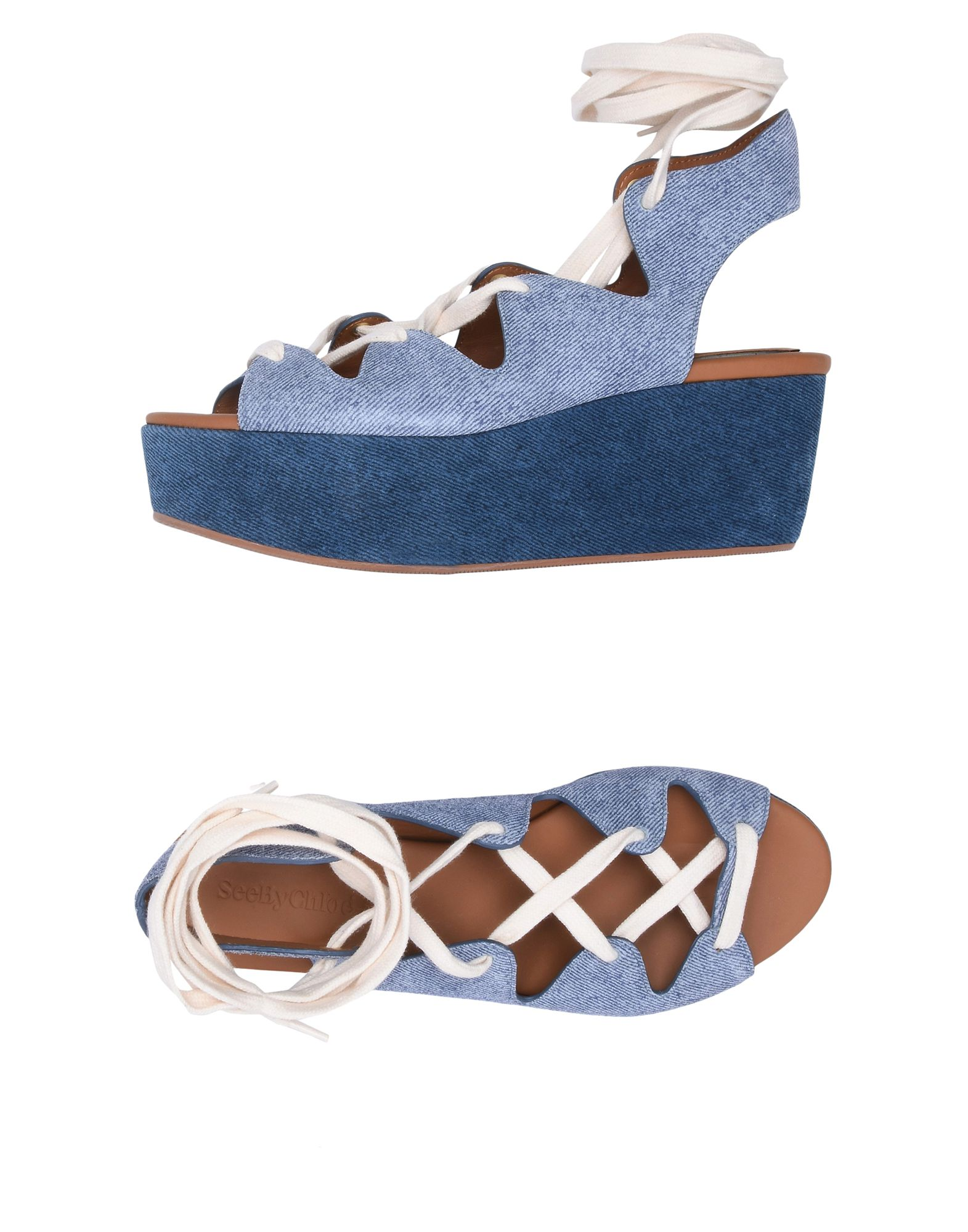 Gut um billige Schuhe zu tragenSee By Chloé Sandalen Damen  11380473RR