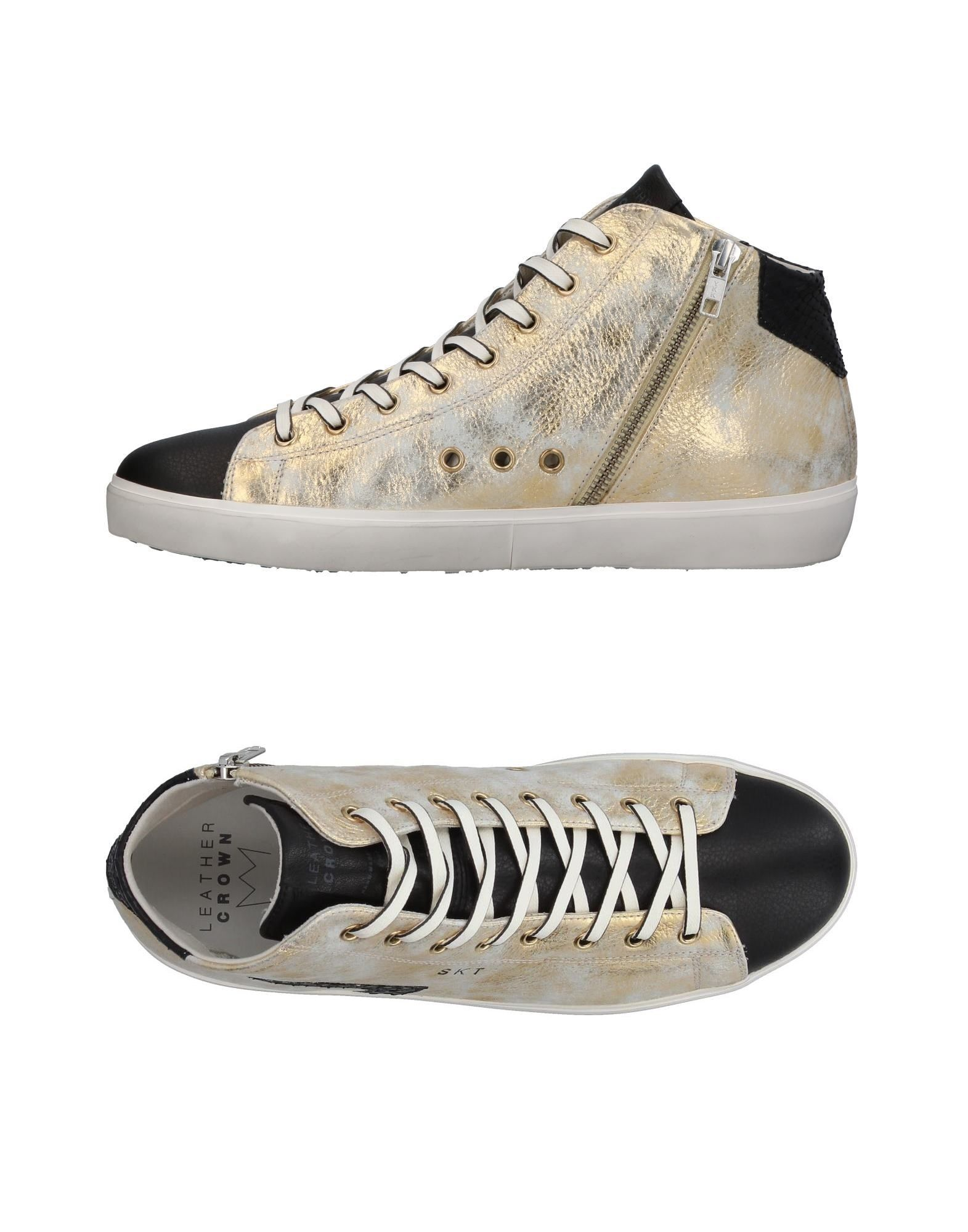 Sneakers Leather Crown Uomo - 11380580EA