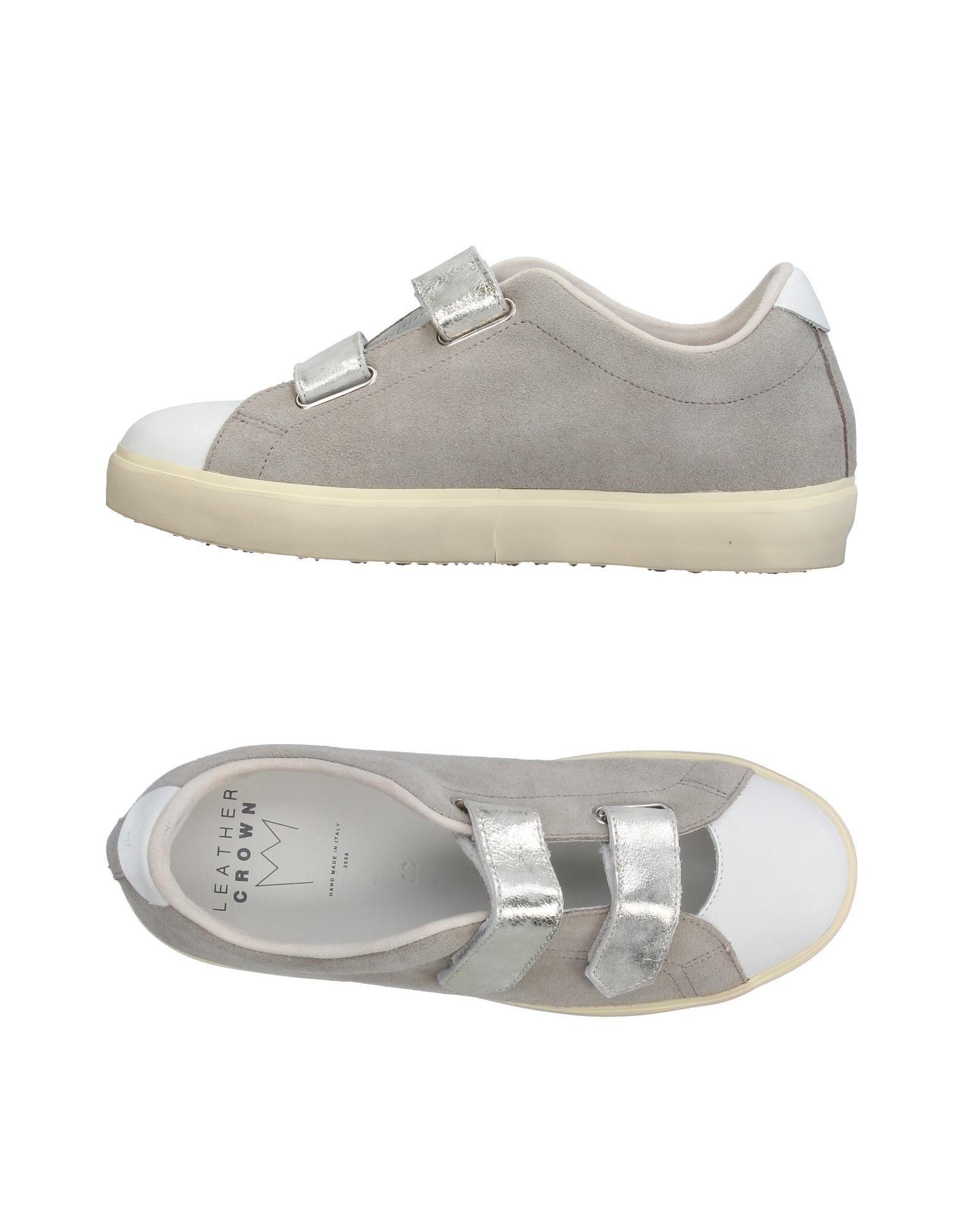 Leather Crown Sneakers Damen  11380671BV Gute Qualität beliebte Schuhe