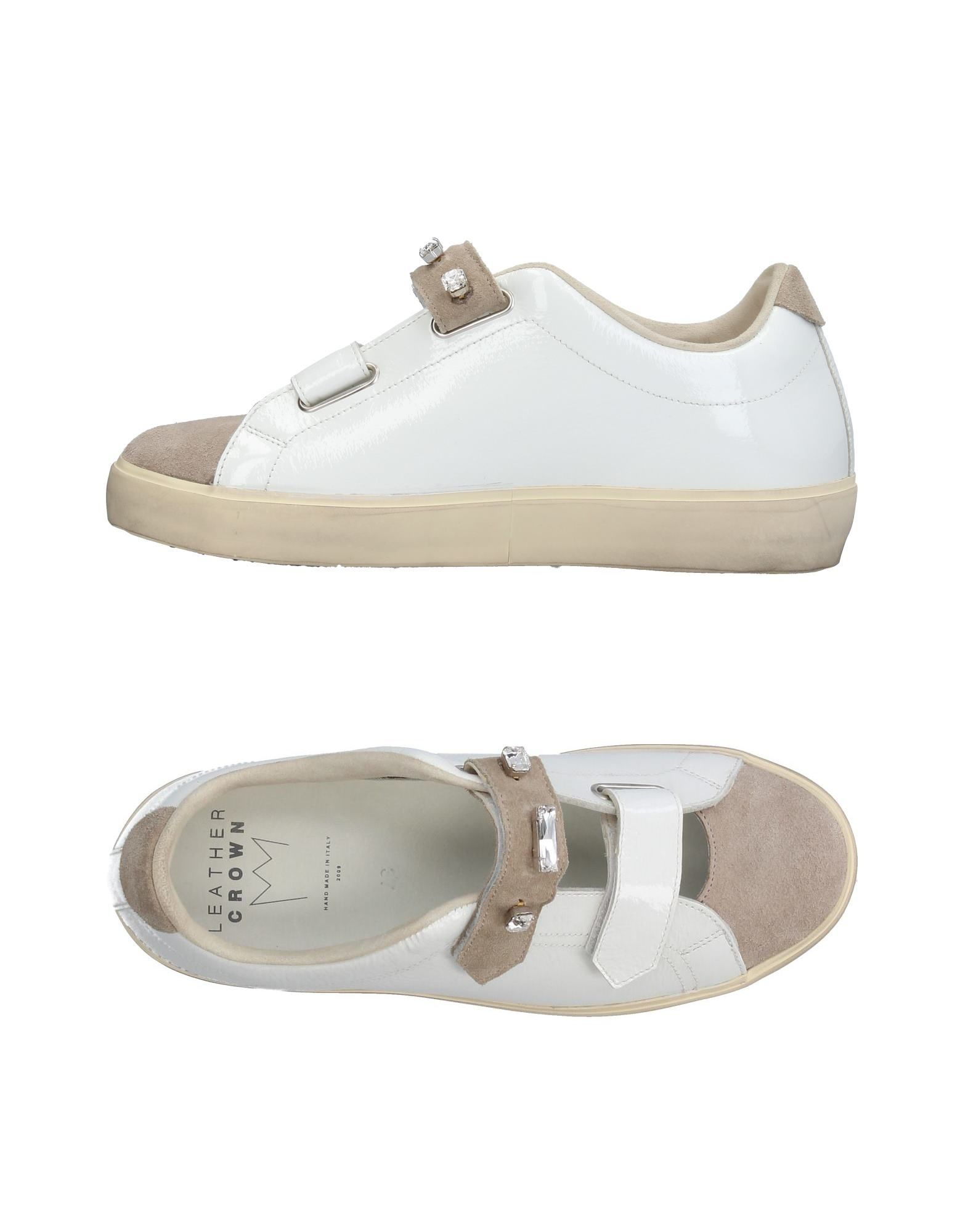 Sneakers Leather Crown Donna - 11380845UI