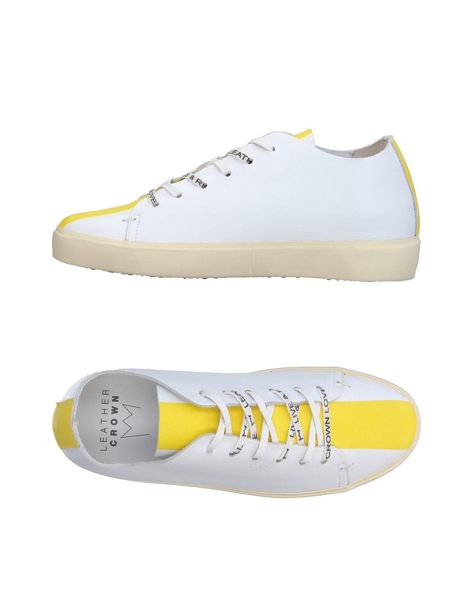 Leather Crown Sneakers Damen  11380854RR Gute Qualität beliebte Schuhe
