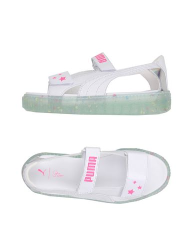 puma platform women's sandals