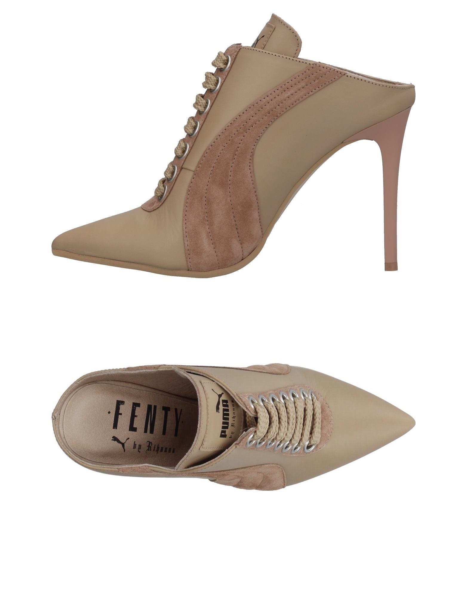 Stilvolle billige Schuhe Puma Pantoletten Damen  11380935KA