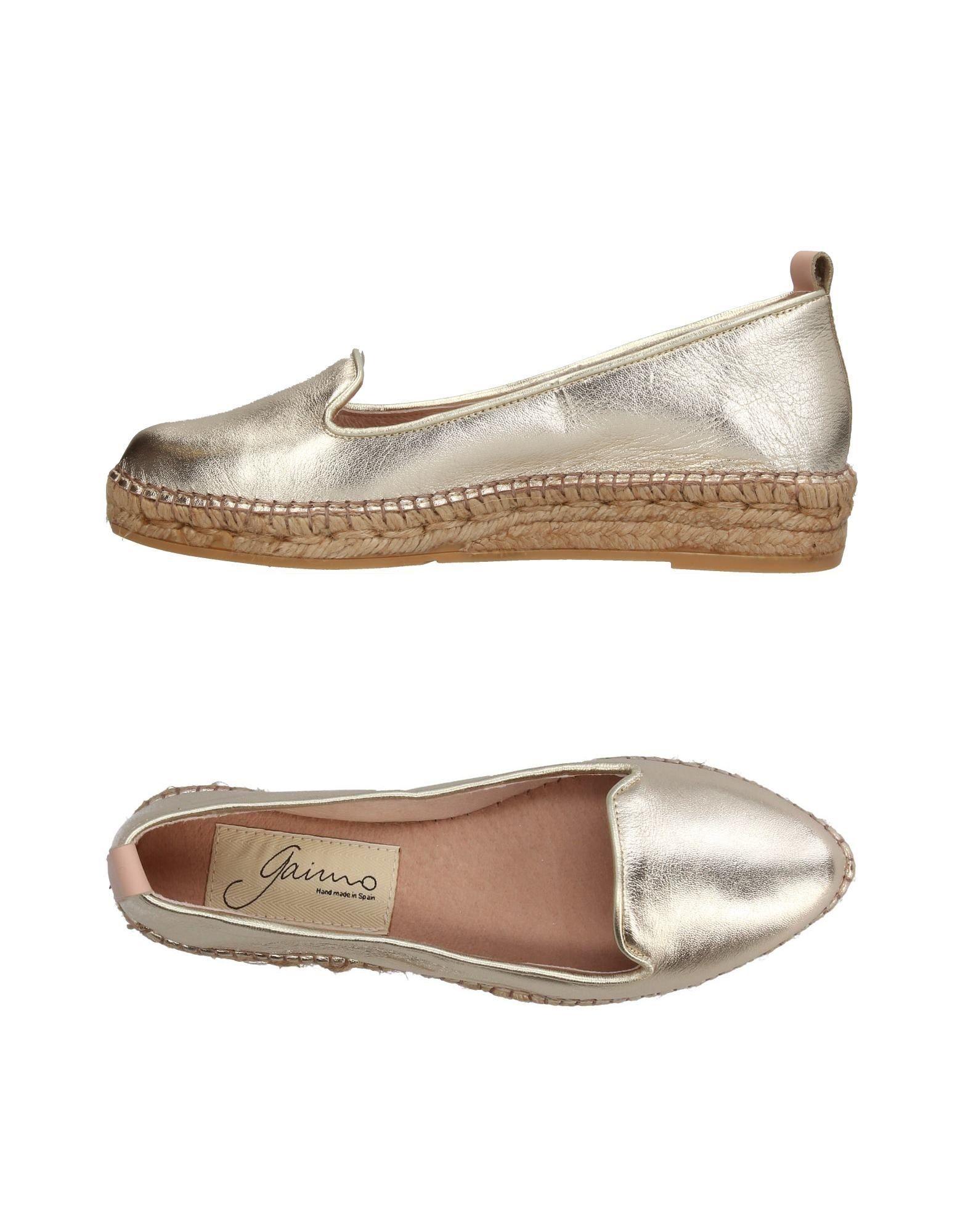Günstige und modische Schuhe Gaimo Espadrilles Damen  11381074MM