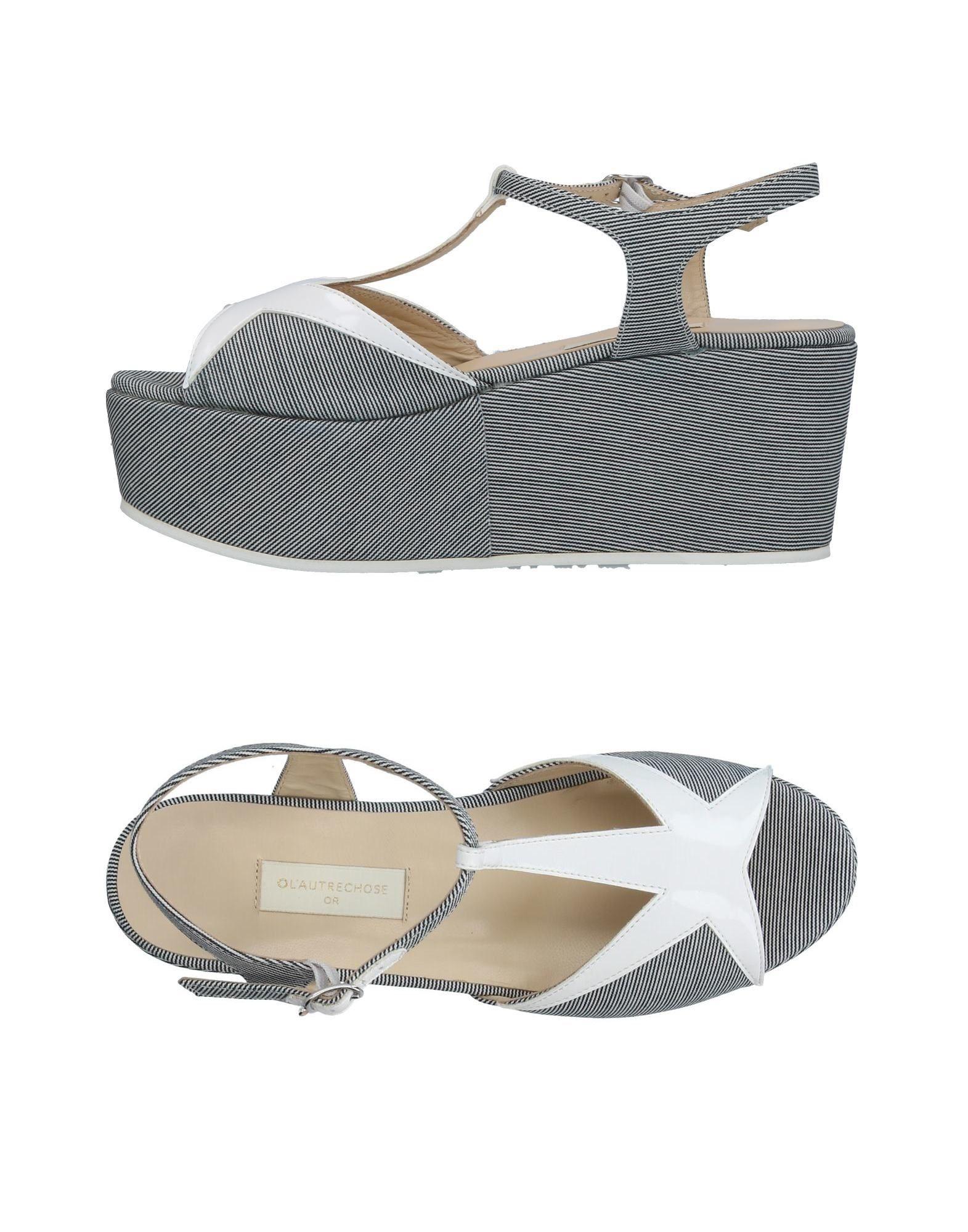 L' Autre Chose Sandalen Damen  11381180GD Gute Qualität beliebte Schuhe