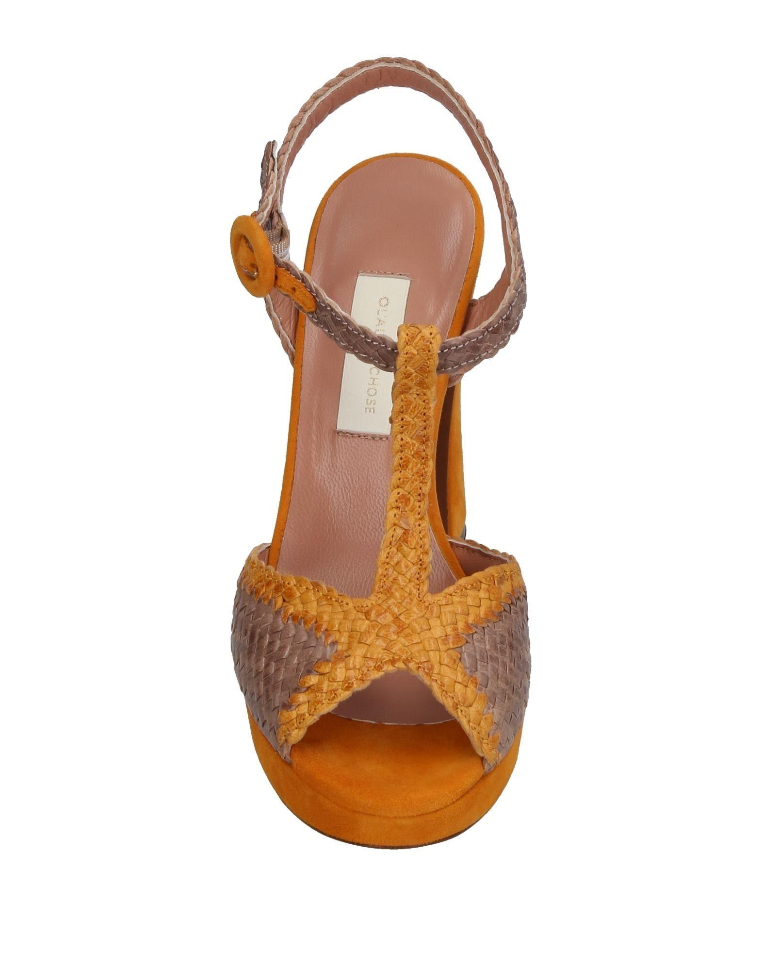 L' Autre Chose Neue Sandalen Damen  11381420SG Neue Chose Schuhe 6228ec