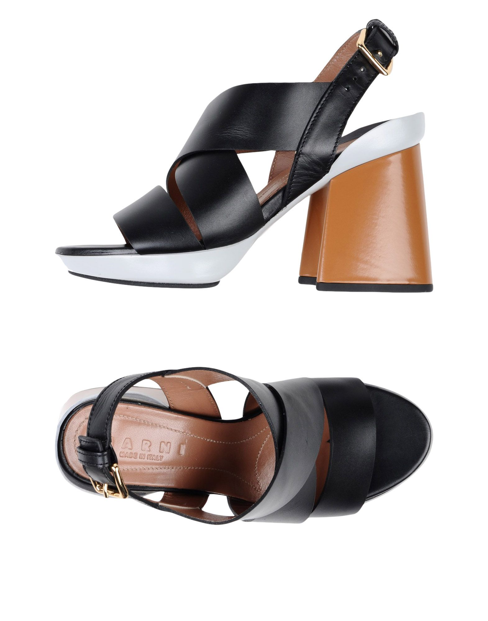 Haltbare Mode billige Schuhe Marni Sandalen Damen  11381450UW Heiße Schuhe