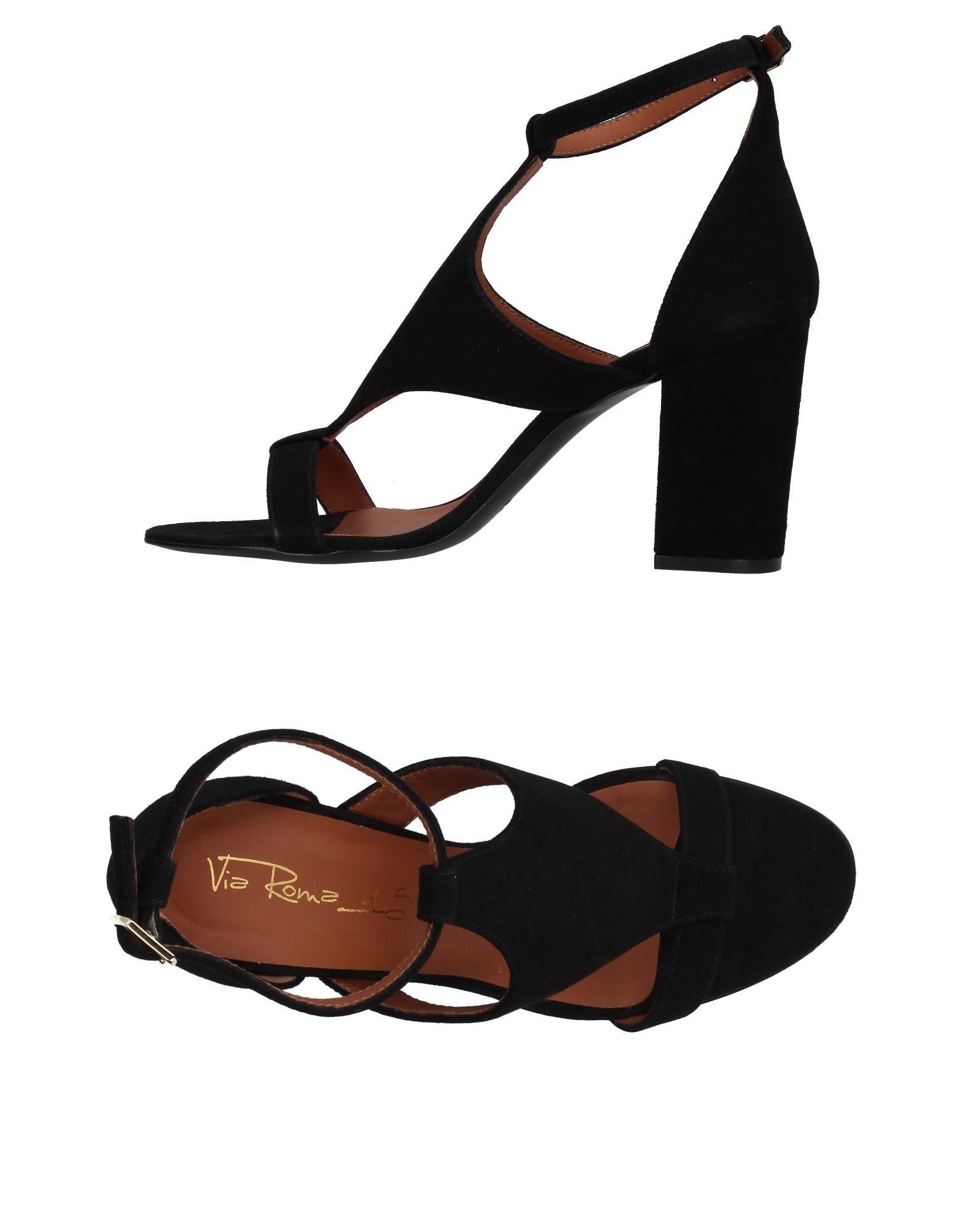Gut um billige Schuhe zu tragenVia Roma 15 Sandalen Damen  11381557UU