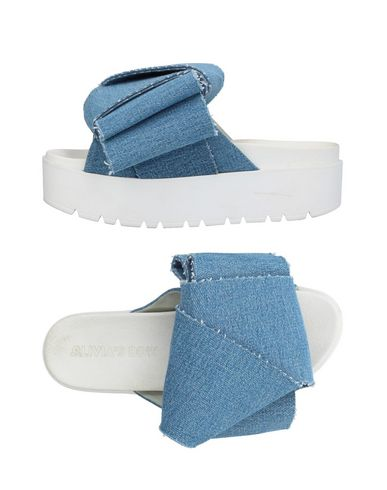 Sandales Olivia's Bleu Olivia's Sandales Bleu Bow Olivia's Bow rvqEAPqYw