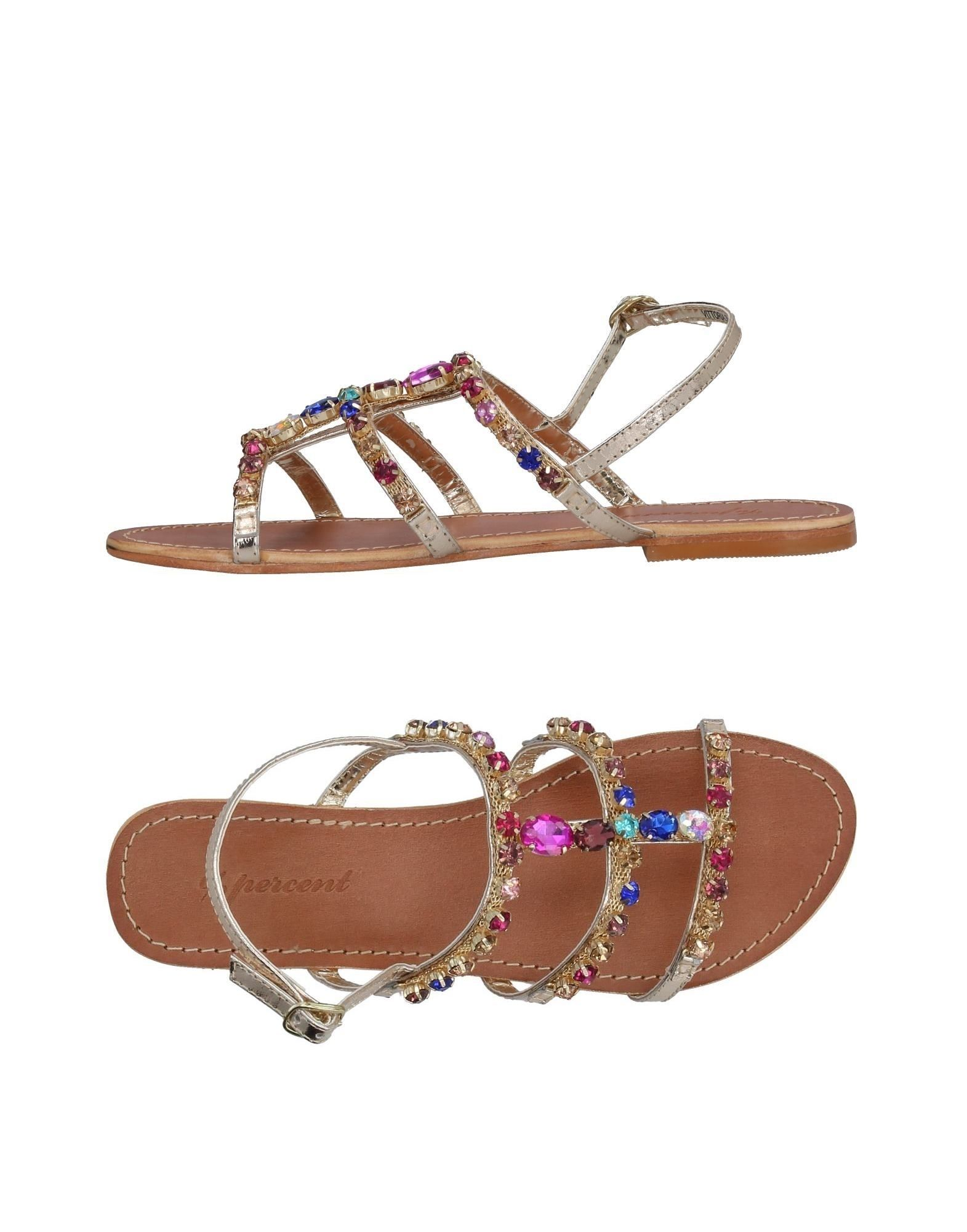 FOOTWEAR - Sandals %Percent UvIIpTt