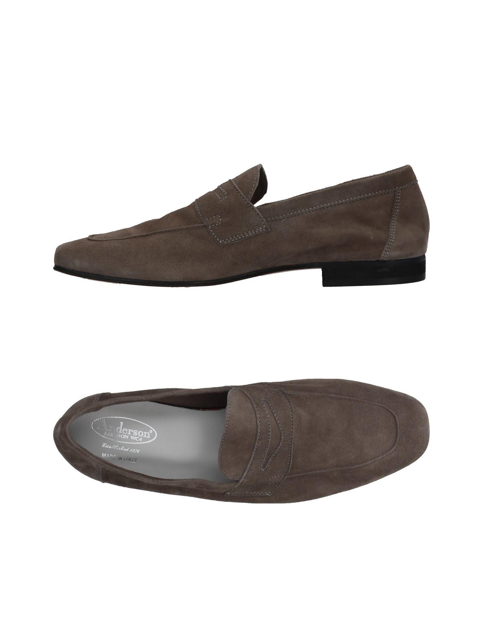 Rabatt echte Schuhe Anderson Mokassins Herren  11382228XX