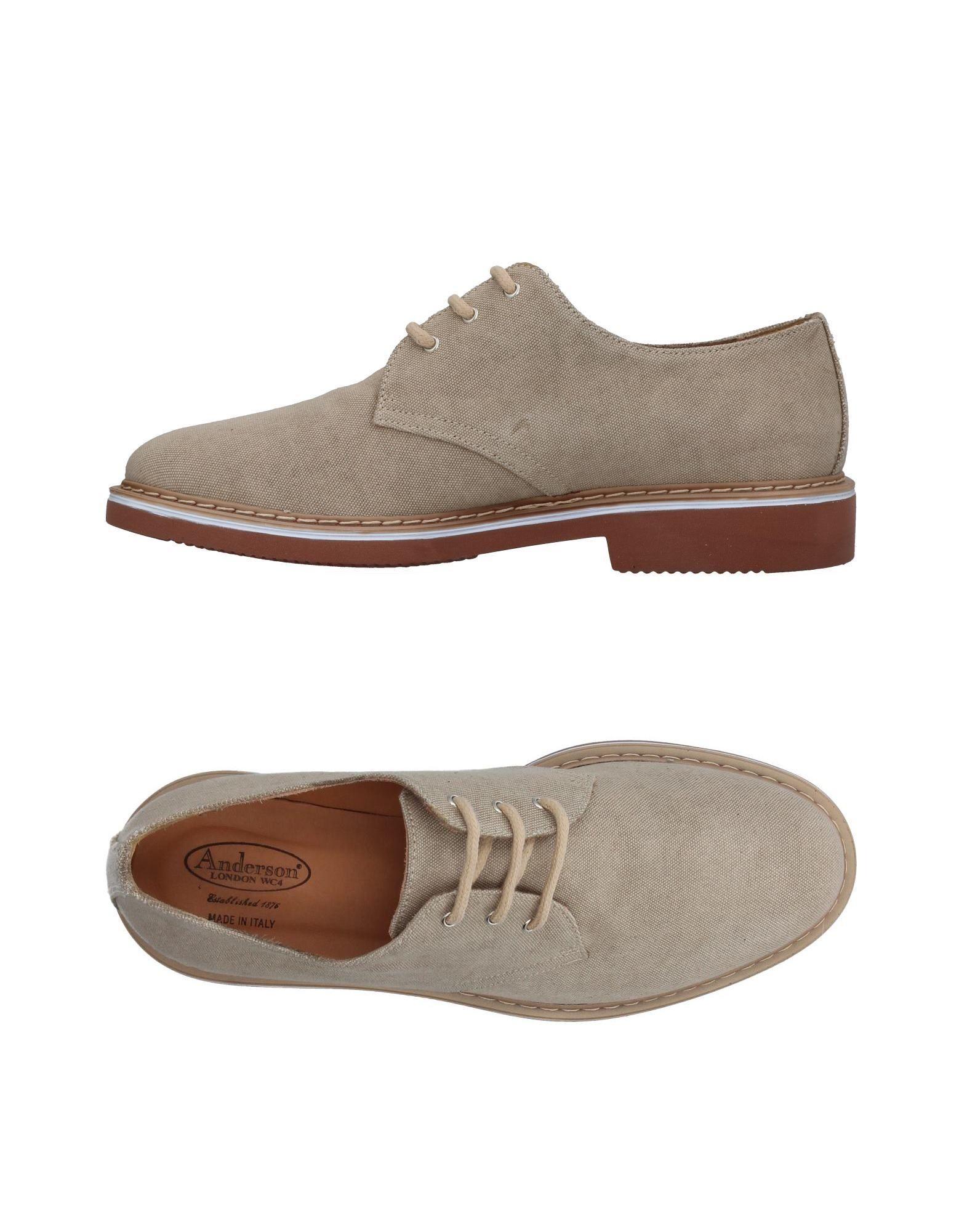 Rabatt echte Schuhe Anderson Schnürschuhe Herren  11382234FW