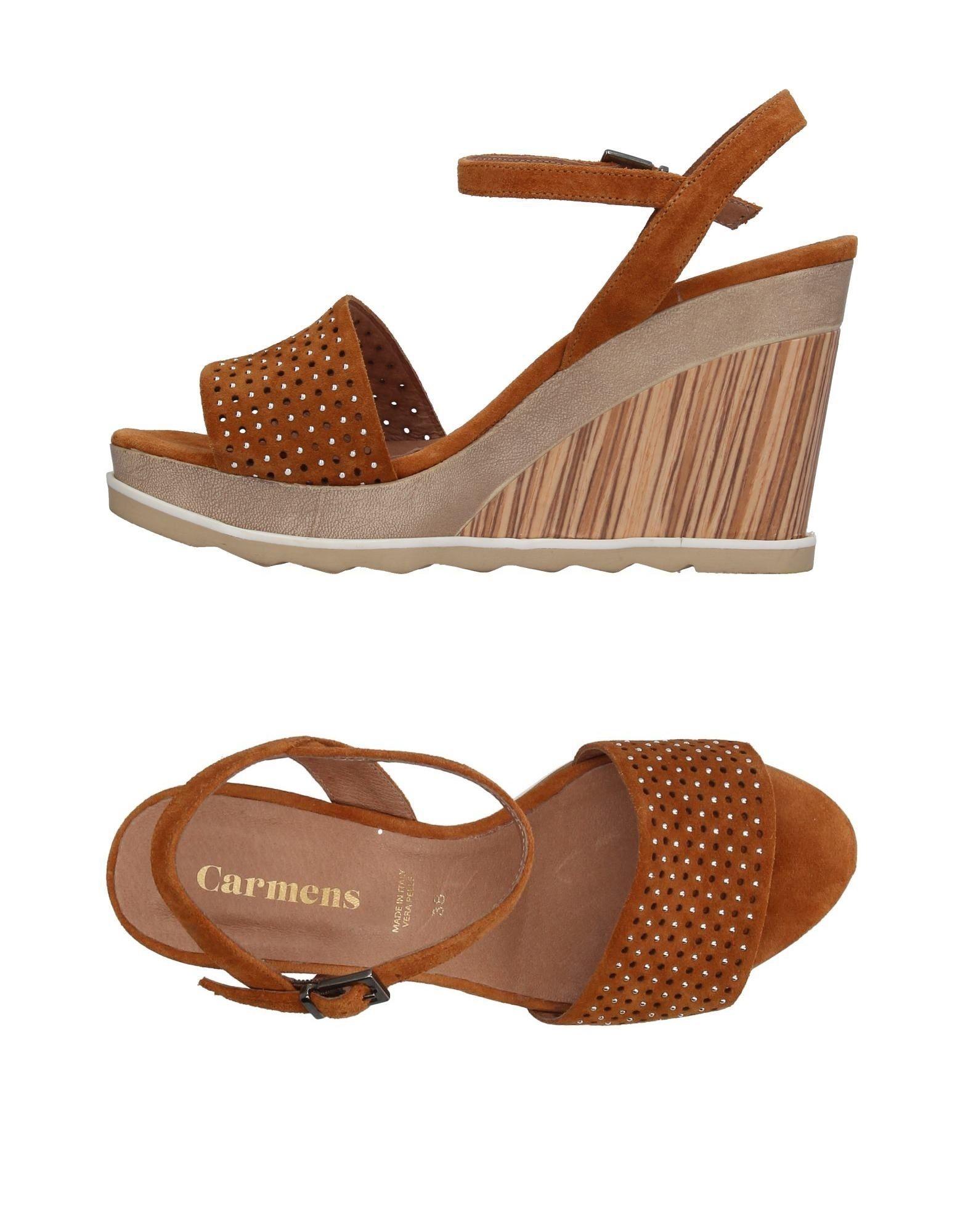 Sandales Carmens Femme - Sandales Carmens sur