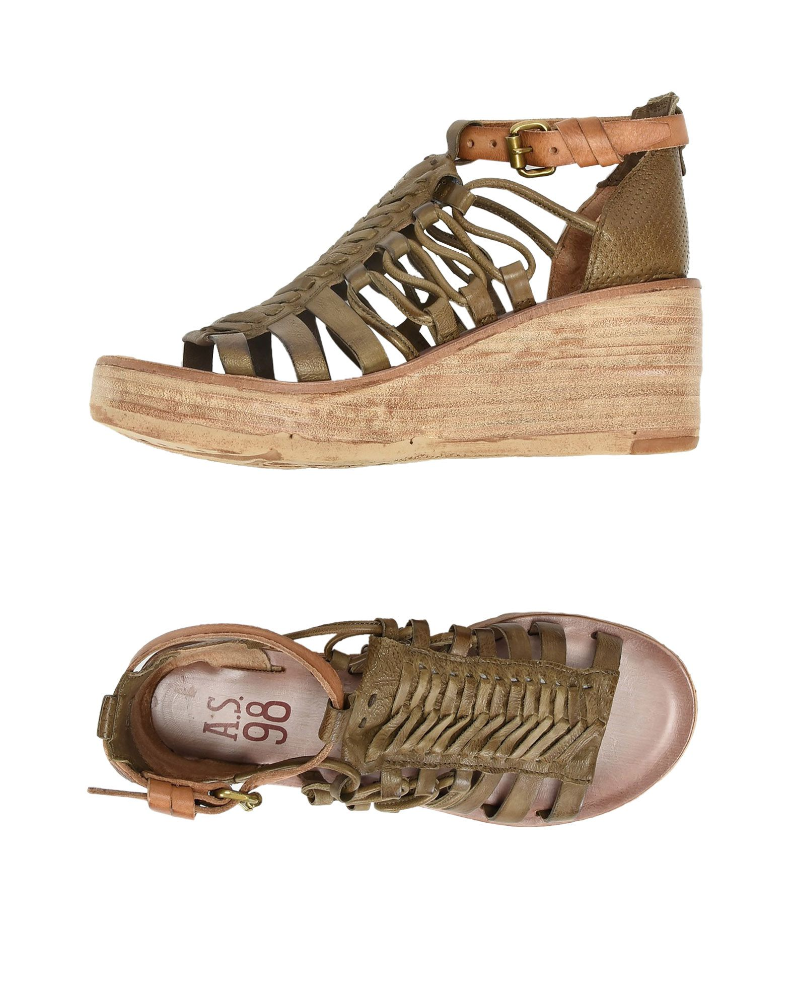Stilvolle Stilvolle Stilvolle billige Schuhe A.S. 98 Sandalen Damen  11383795RT fc9822