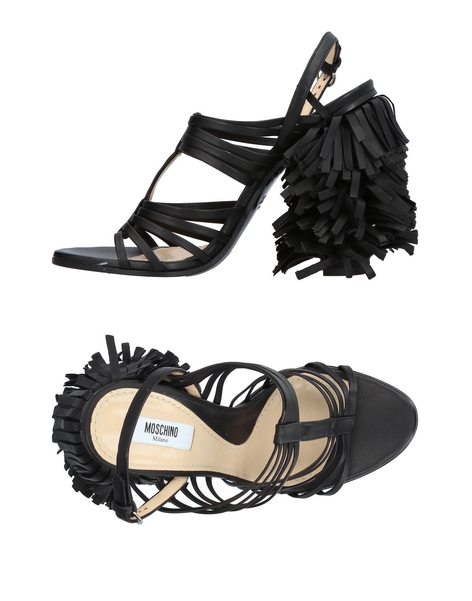 Stilvolle billige Schuhe Moschino Sandalen Damen  11383938ND