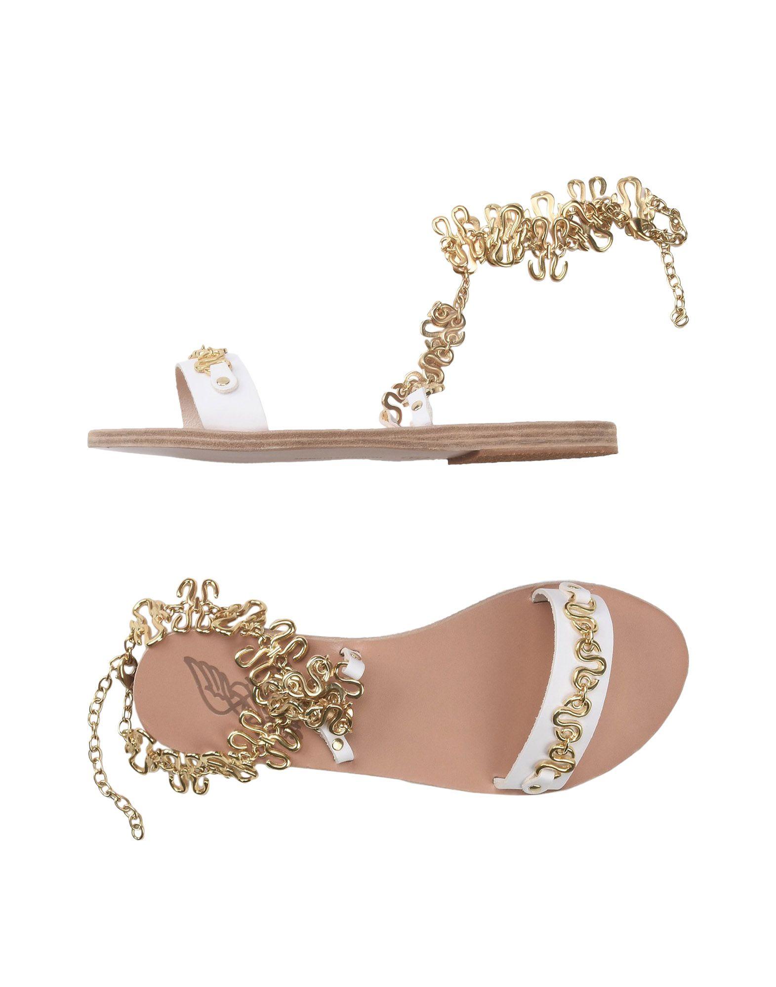 Stilvolle billige Schuhe Ancient Greek Sandals Sandalen Damen  11383949SI
