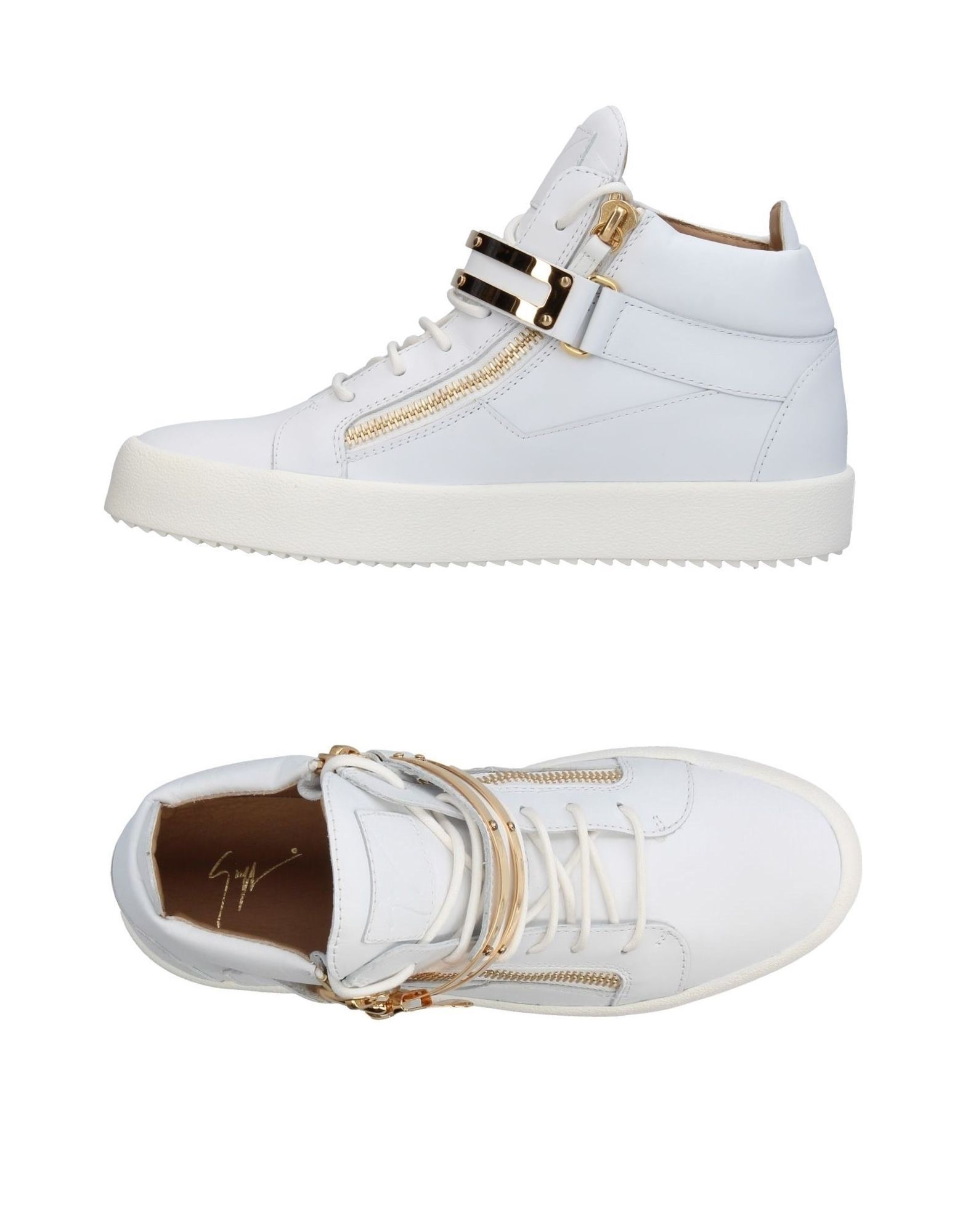 Sneakers Giuseppe Zanotti Homme - Sneakers Giuseppe Zanotti  Blanc Super rabais