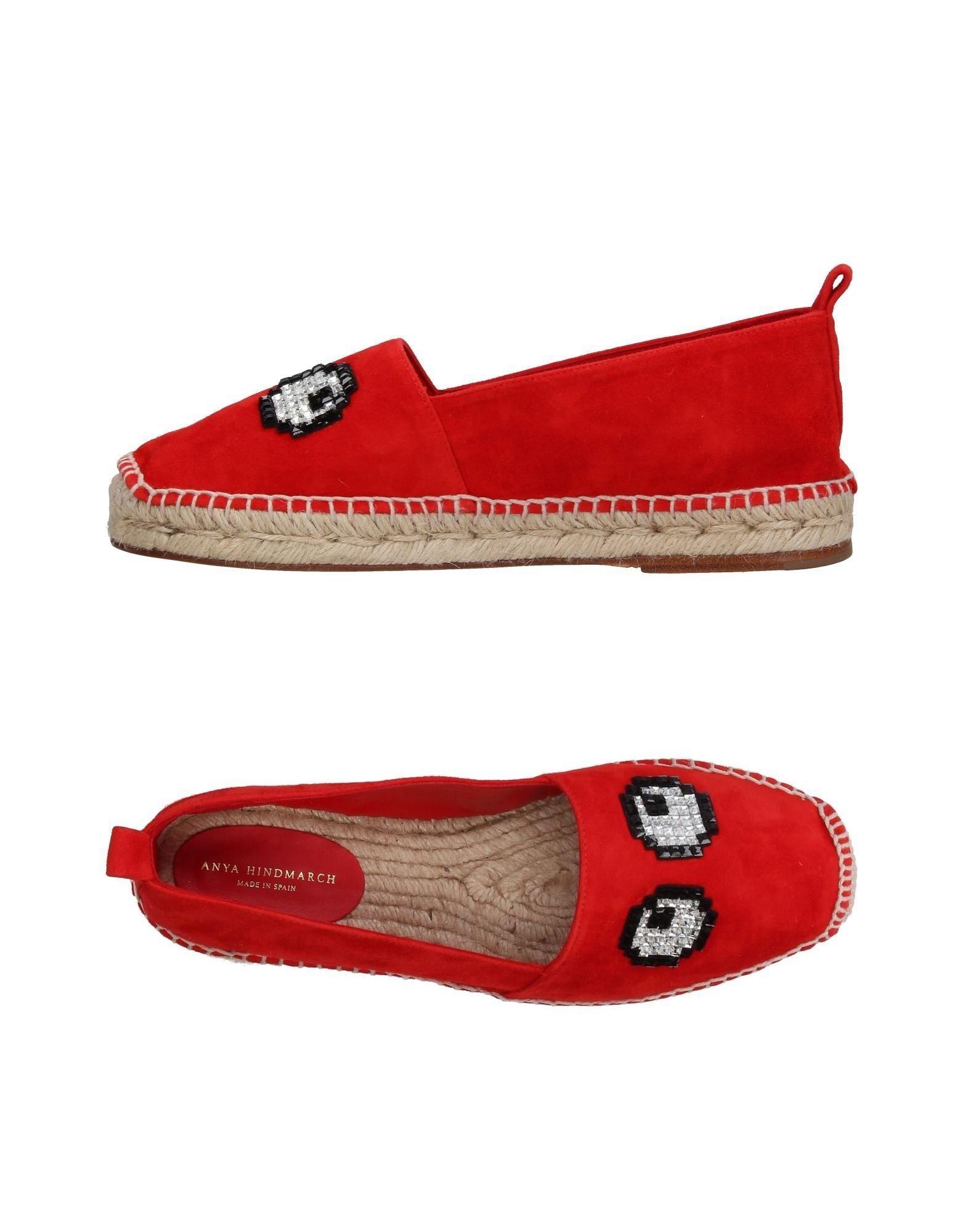 Anya Hindmarch Espadrilles 11383996UVGut Damen  11383996UVGut Espadrilles aussehende strapazierfähige Schuhe 0145b8