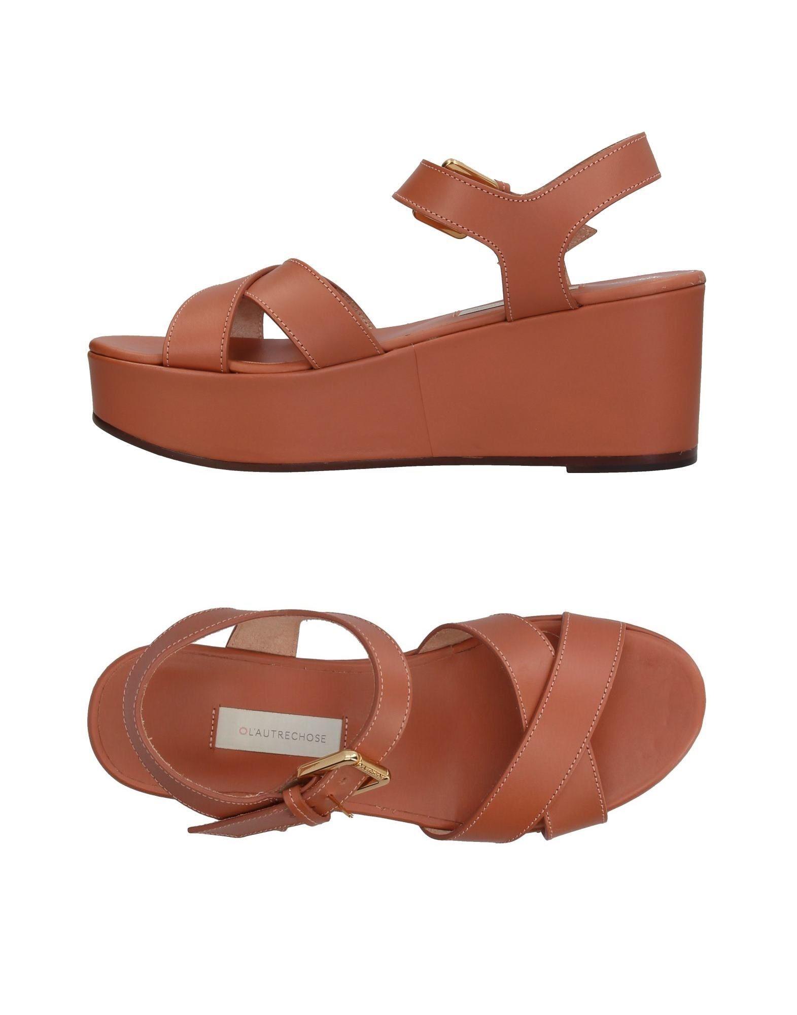 L' Autre Chose aussehende Sandalen Damen  11384114MUGut aussehende Chose strapazierfähige Schuhe d89db5