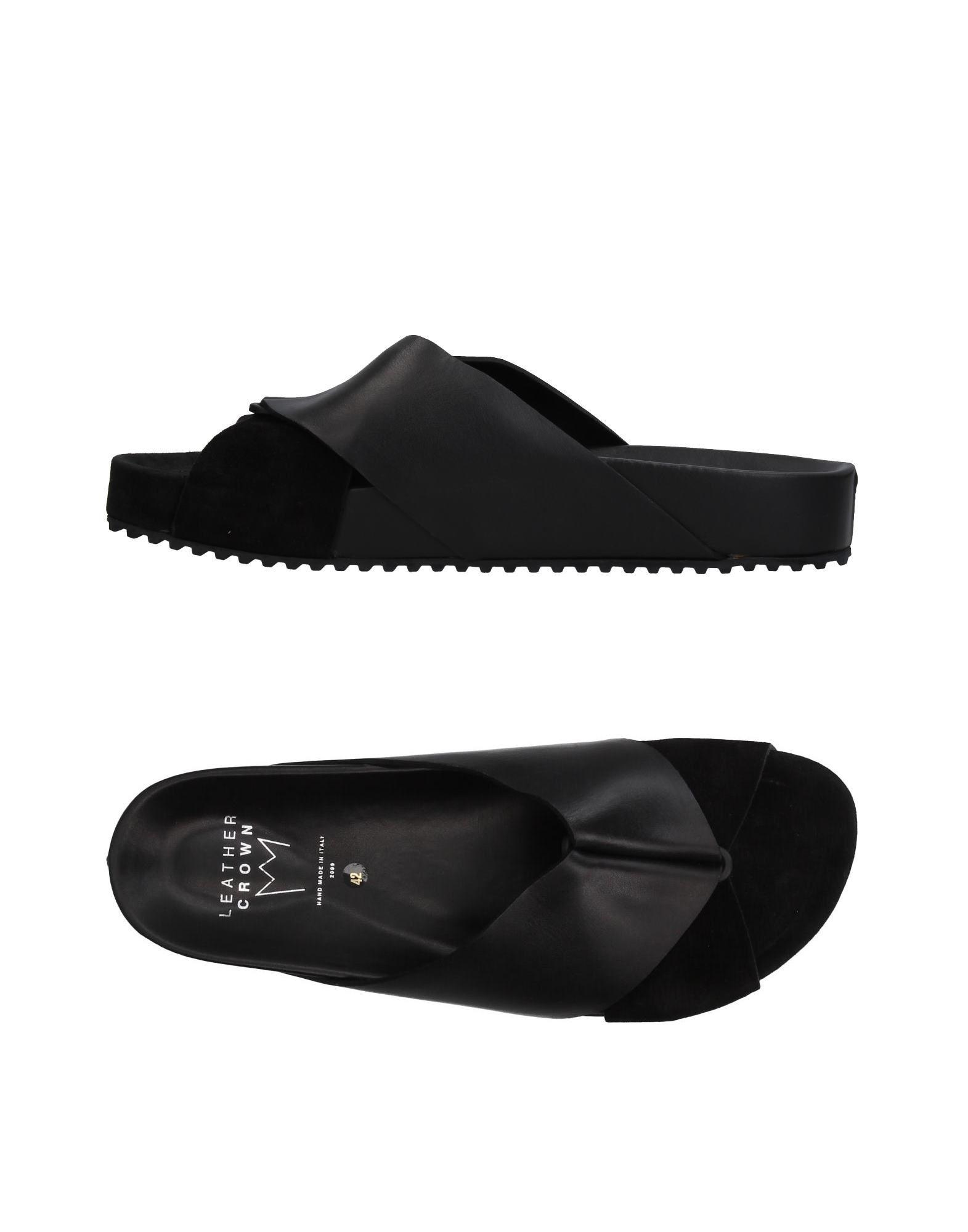 Leather Crown Sandals - Men on Leather Crown Sandals online on Men  United Kingdom - 11384641MI caea85