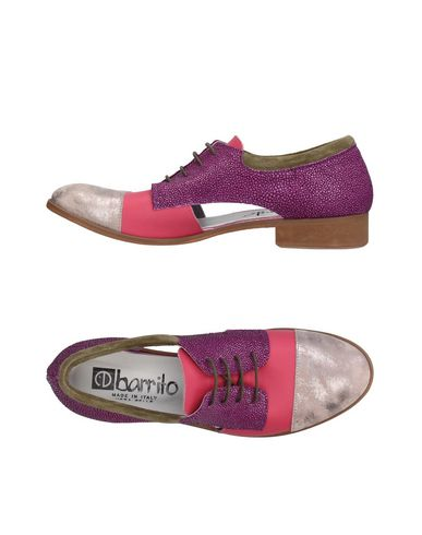 Zapato De - Cordones Ebarrito Mujer - De Zapatos De Cordones Ebarrito - 11384678IK Coral 73b921