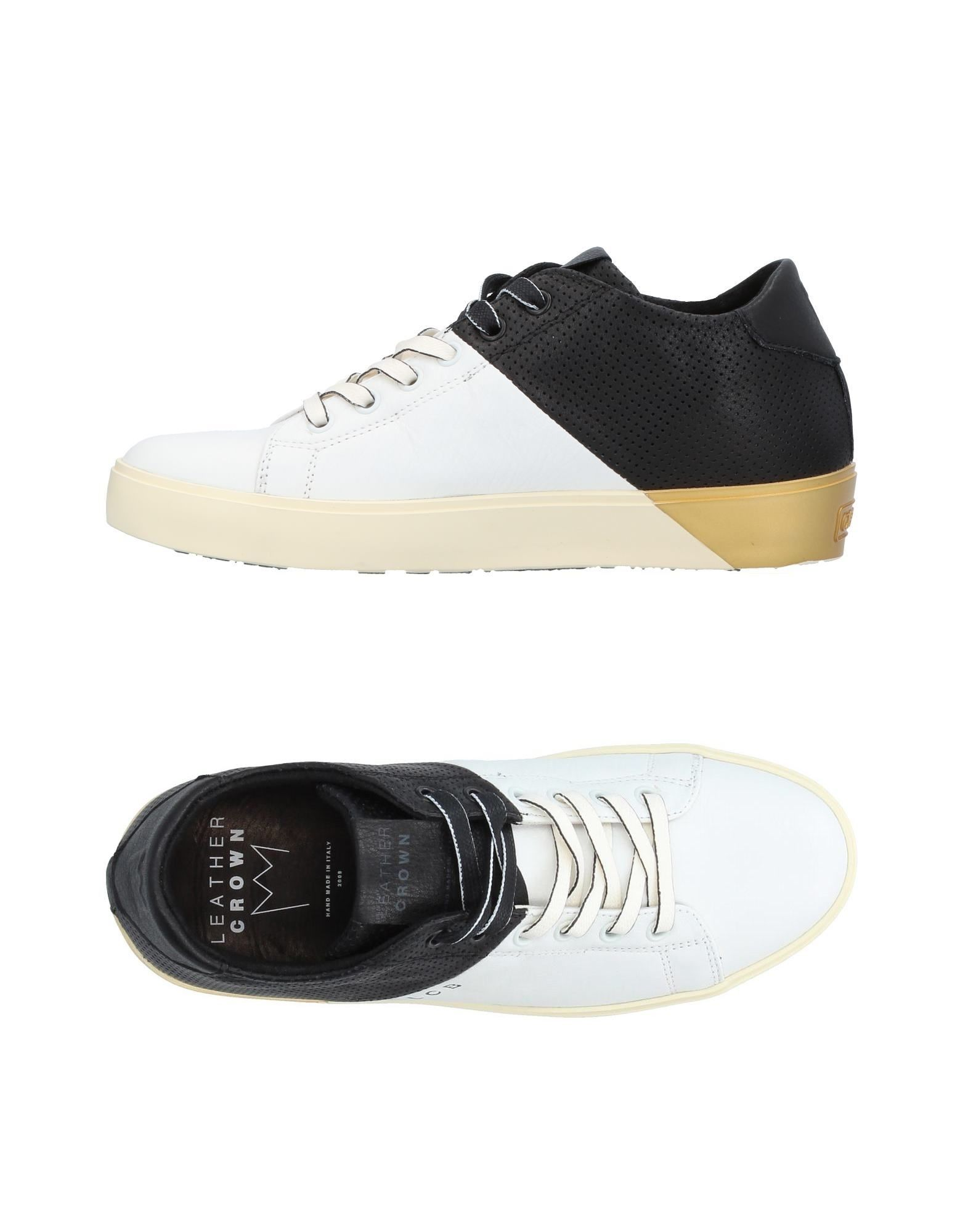 Sneakers Leather Crown Donna - 11384885TR
