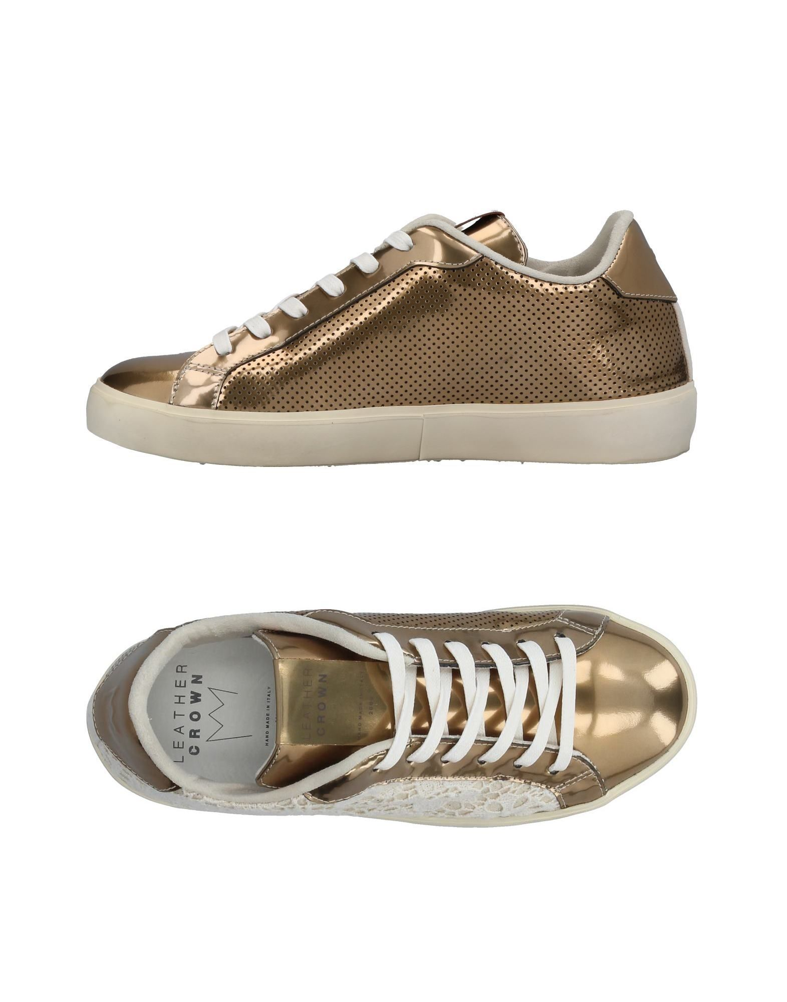 Sneakers Leather Crown Donna - 11384931RU