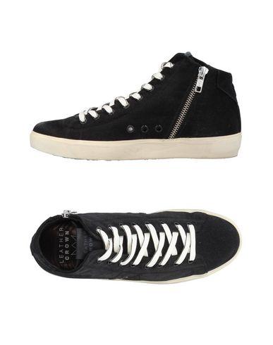 Los últimos mujer zapatos de hombre y mujer últimos Zapatillas Leather Crown Mujer - Zapatillas Leather Crown - 11384956TX Negro 91c631