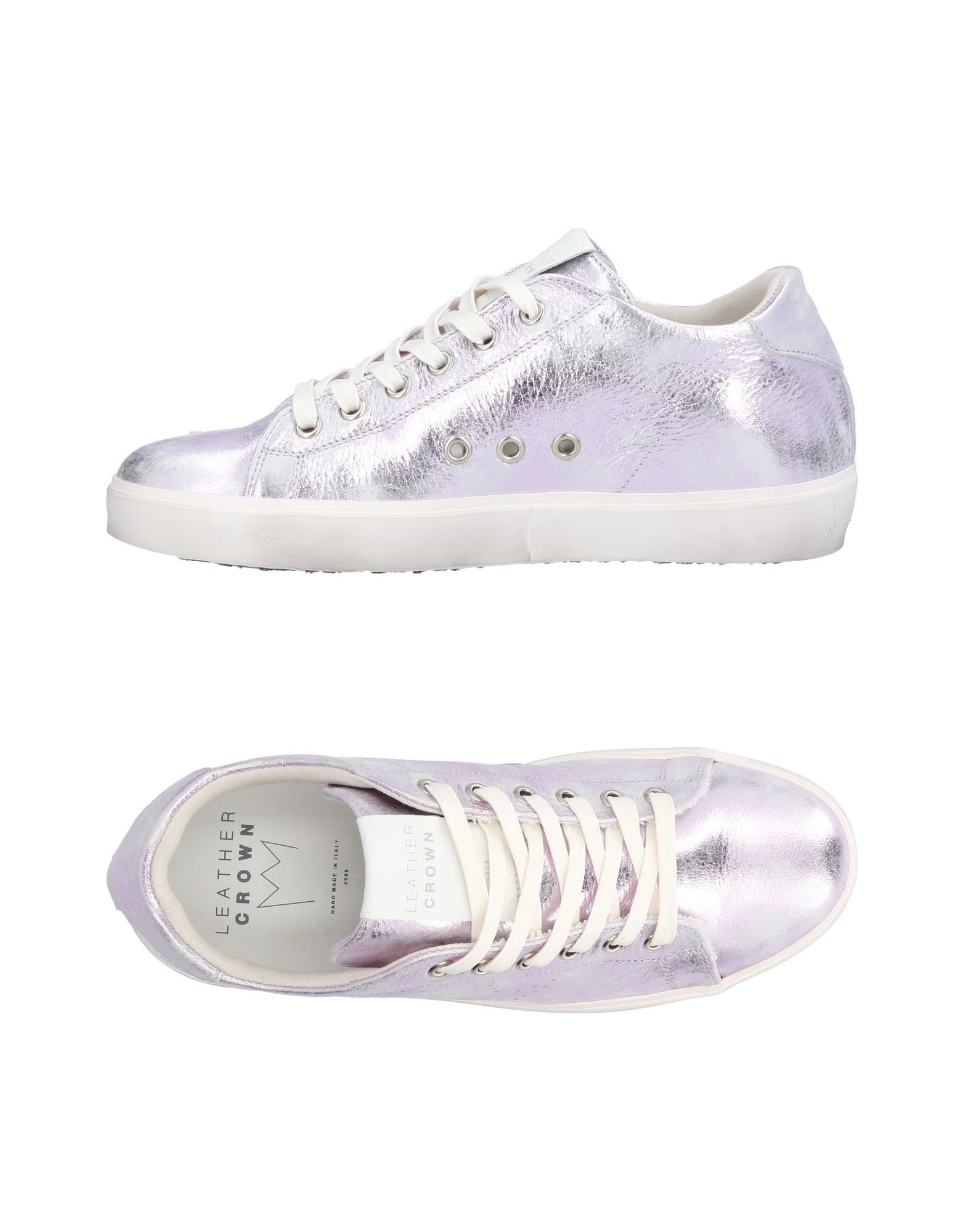 Sneakers Leather Crown Donna - 11384966TI