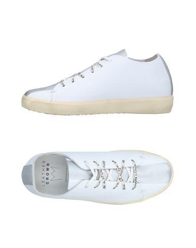 Zapatillas Leather Crown Mujer - Zapatillas Leather Crown - 11385033AQ Blanco