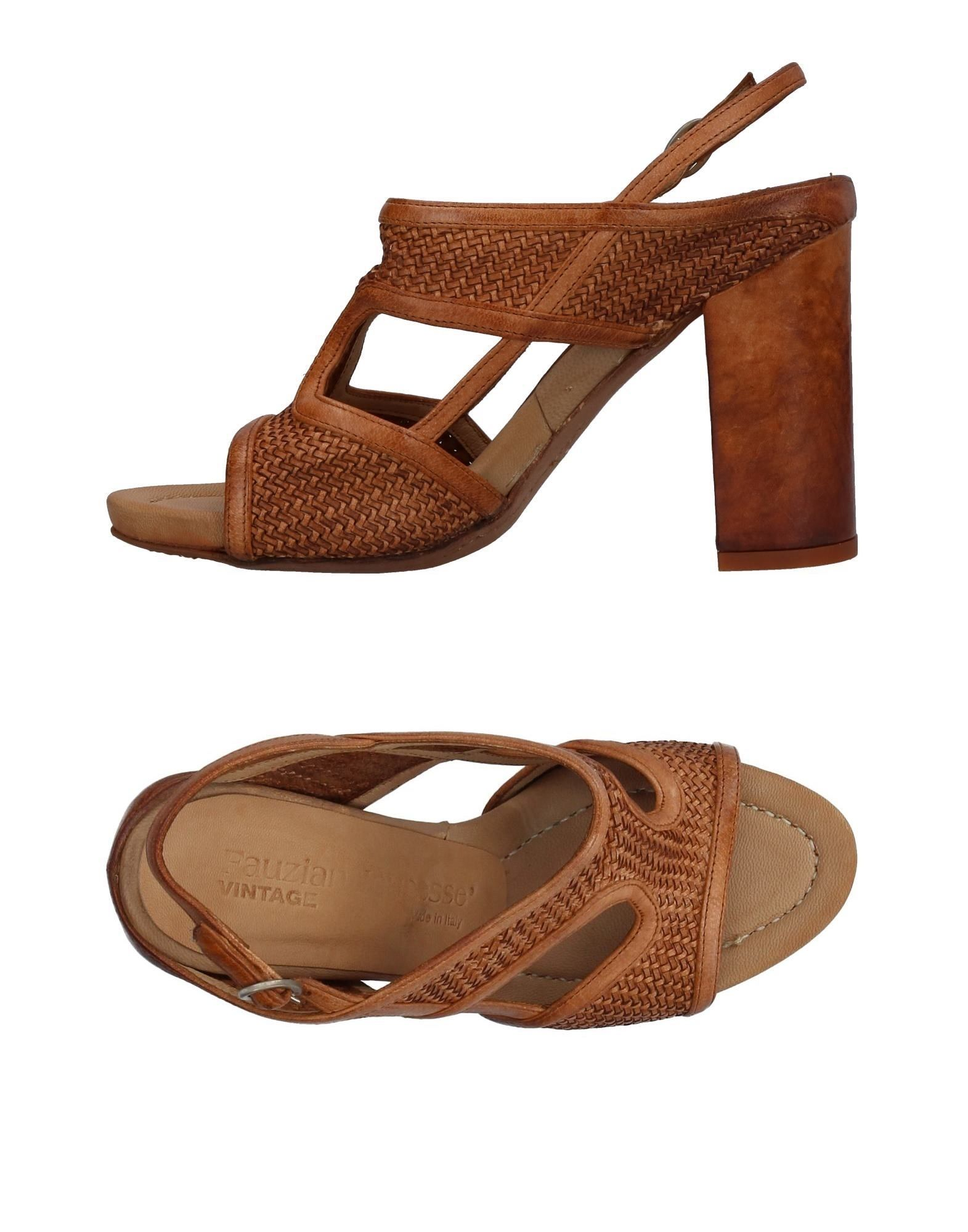 Fauzian Jeunesse Vintage Sandalen Damen  11385125BW Gute Qualität beliebte Schuhe
