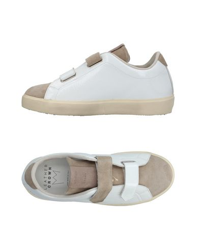 Zapatillas Leather Crown Mujer - Zapatillas Leather Crown - 11385181BR Blanco
