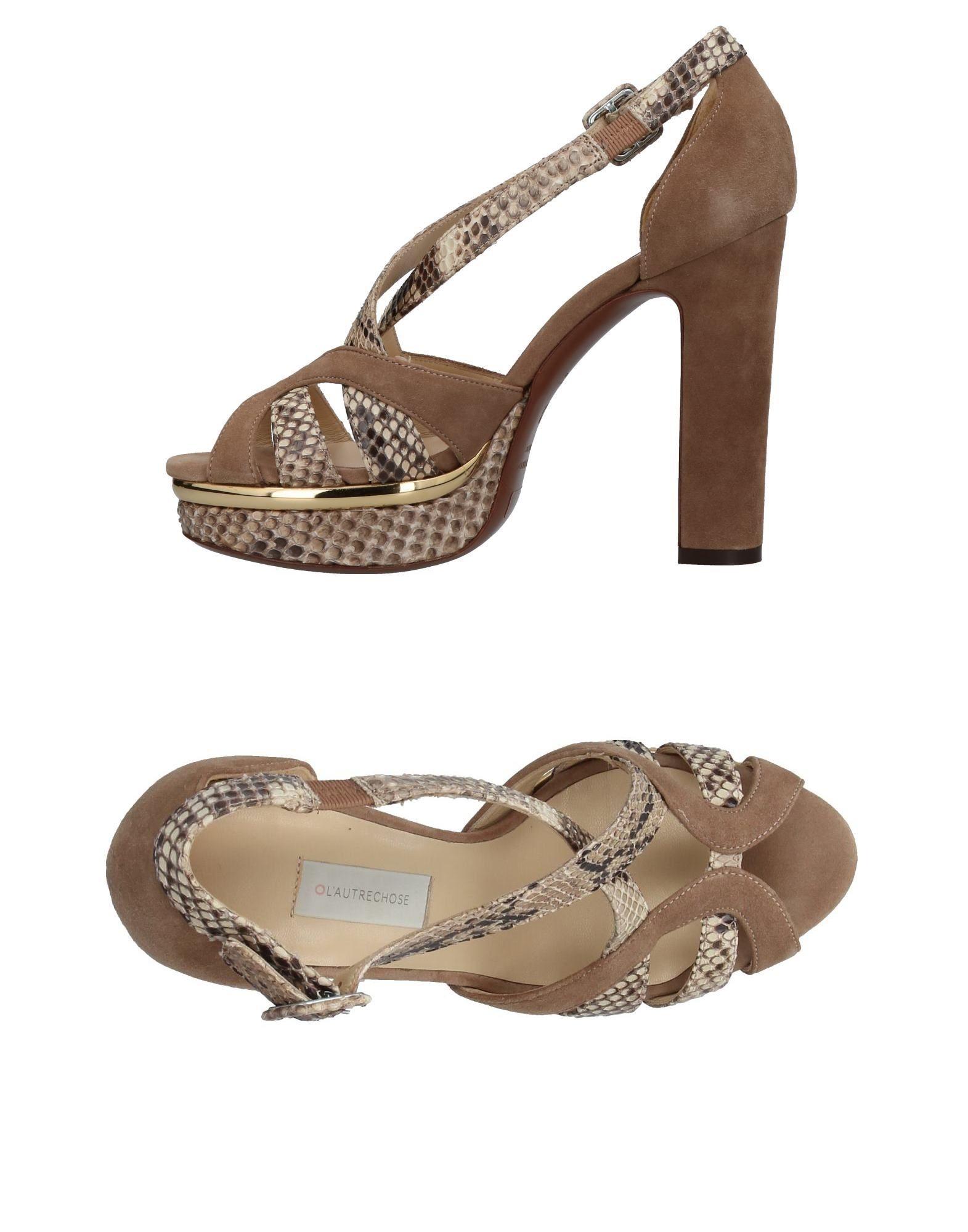 Stilvolle billige Schuhe L' Autre Chose Sandalen Damen  11385330GQ