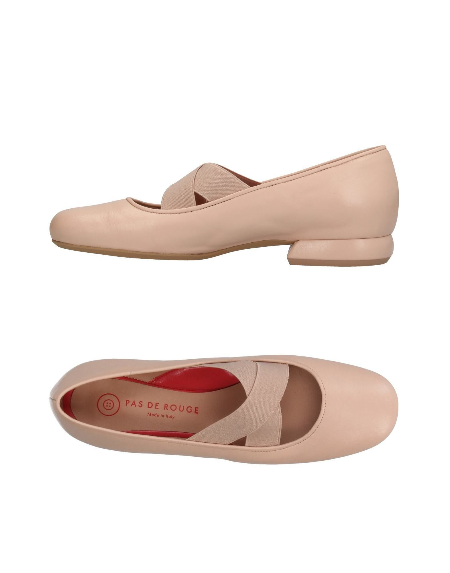 Pas De Rouge Ballerinas Damen  11385405ON Gute Qualität beliebte Schuhe