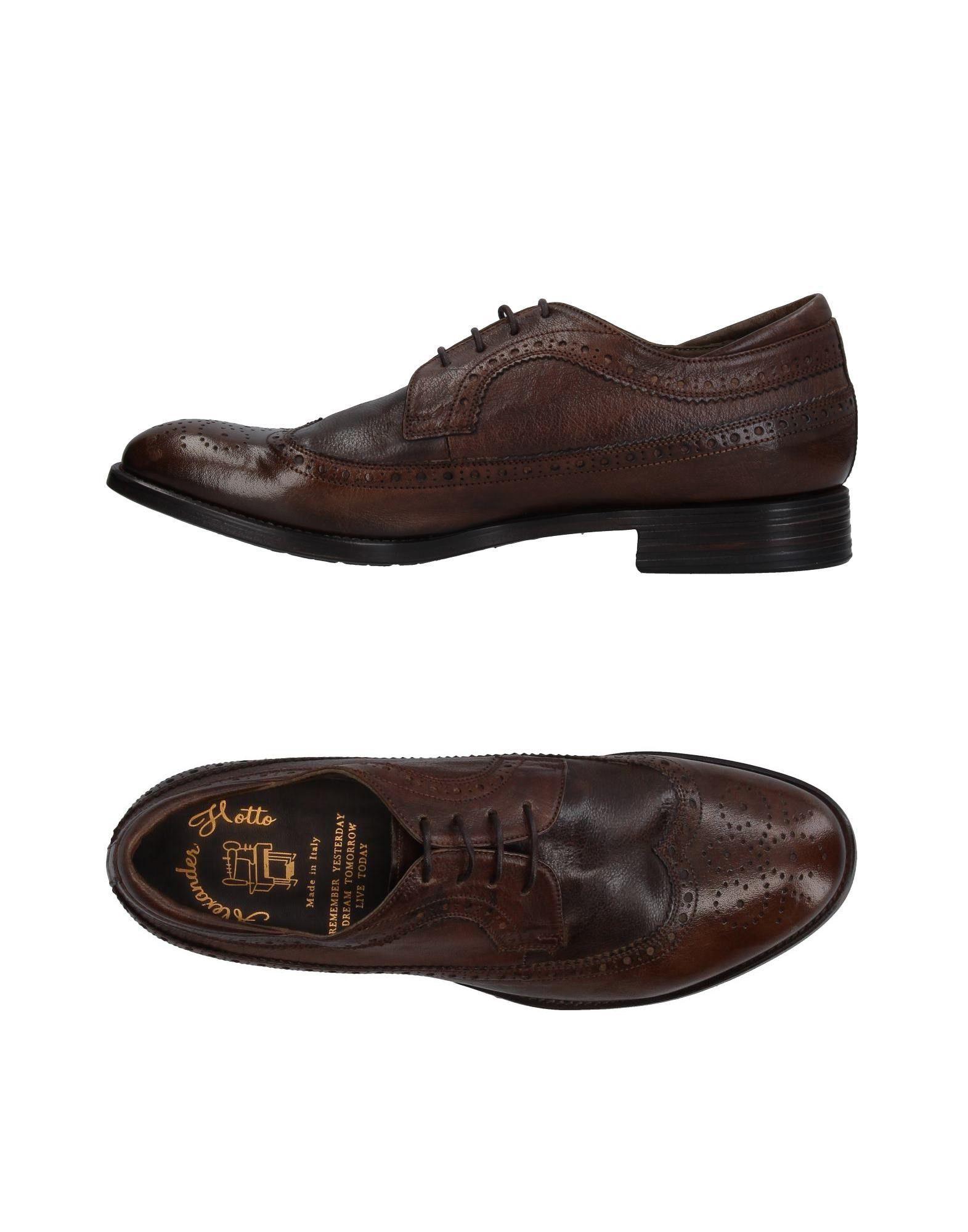 Rabatt echte Schuhe Alexander Hotto Schnürschuhe Herren  11385479QG