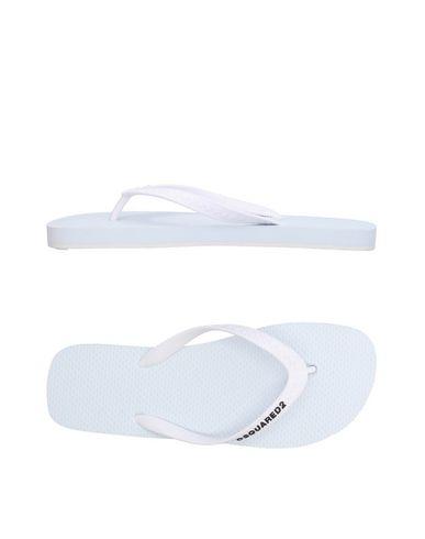 71e119c8b7bb1 Zapatos con descuento Sandalias De Dedo Dsquared2 Hombre - Sandalias De  Dedo Dsquared2 - 11385482RD Blanco