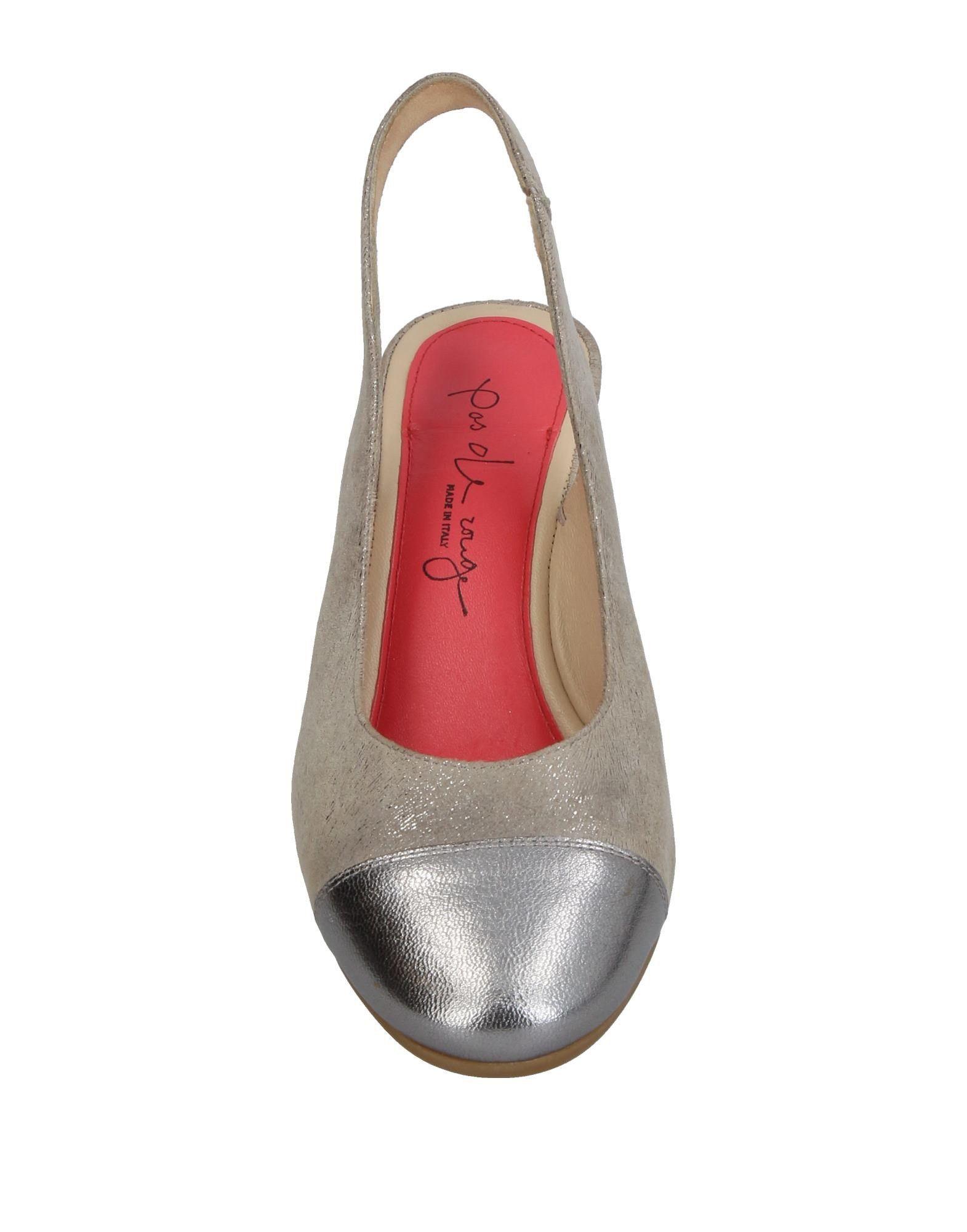 Pas De Rouge  Pumps Damen  Rouge 11385523IA Gute Qualität beliebte Schuhe 9b9317