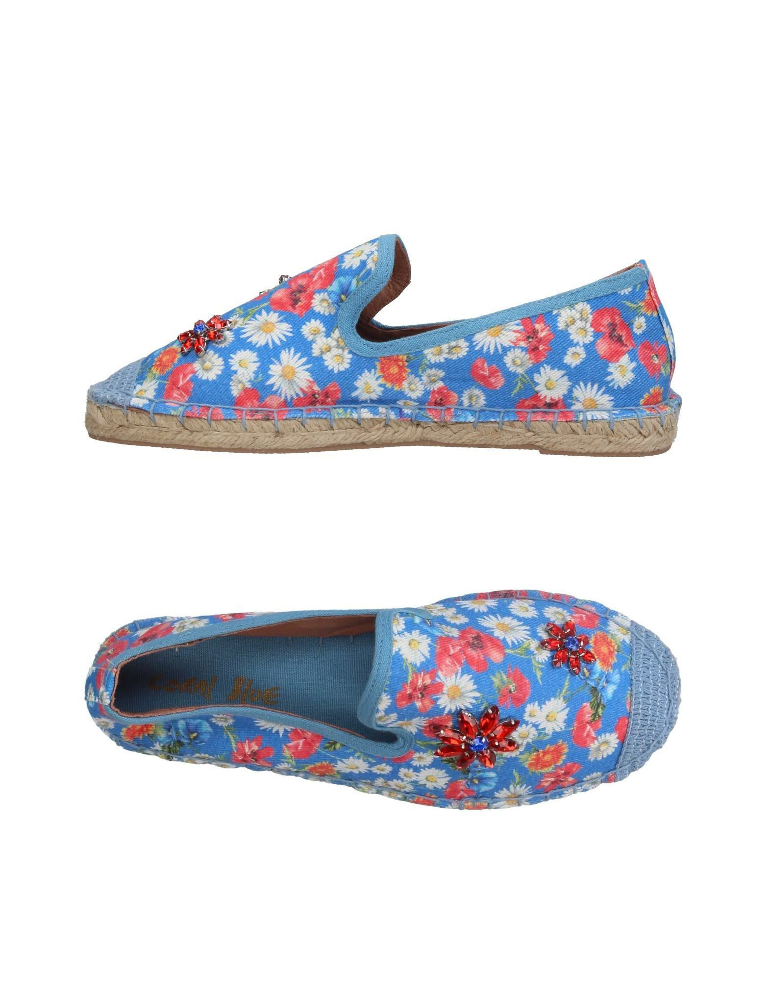 Coral BlueEspadrilles - turquoise dN847AERf