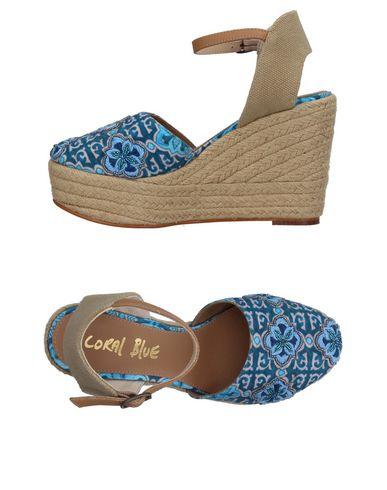 Zapatos de mujer baratos Coral zapatos de mujer Espadrilla Coral baratos Blue Mujer - Espadrillas Coral Blue - 11385610NF Verde petróleo a2becc