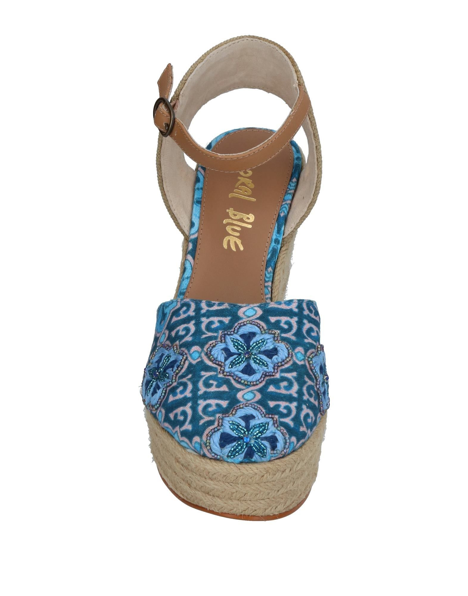 Coral Blue Espadrilles Damen 11385610NF  11385610NF Damen 185ddb