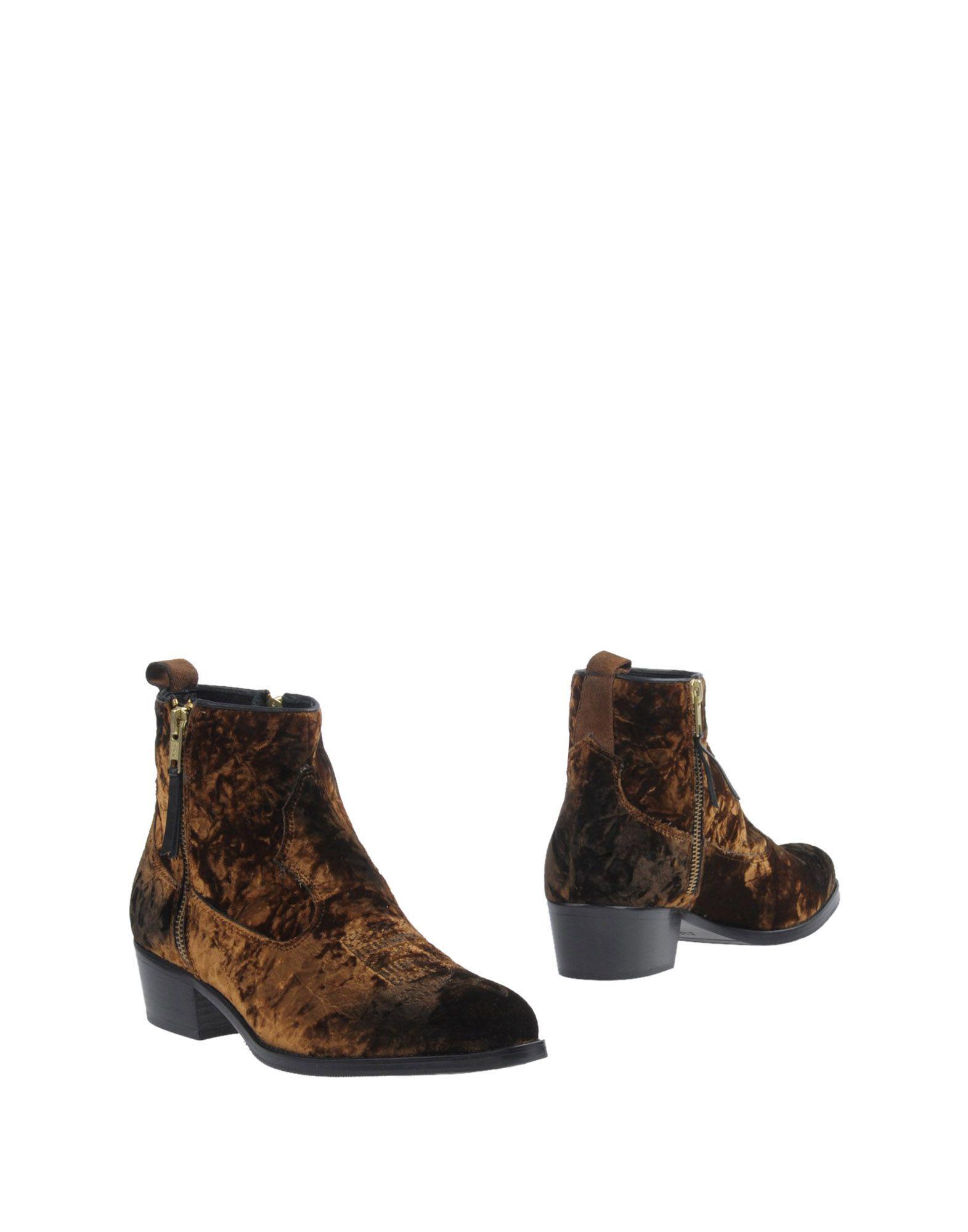Stilvolle billige Schuhe Alexander Hotto Stiefelette Damen  11385802UM