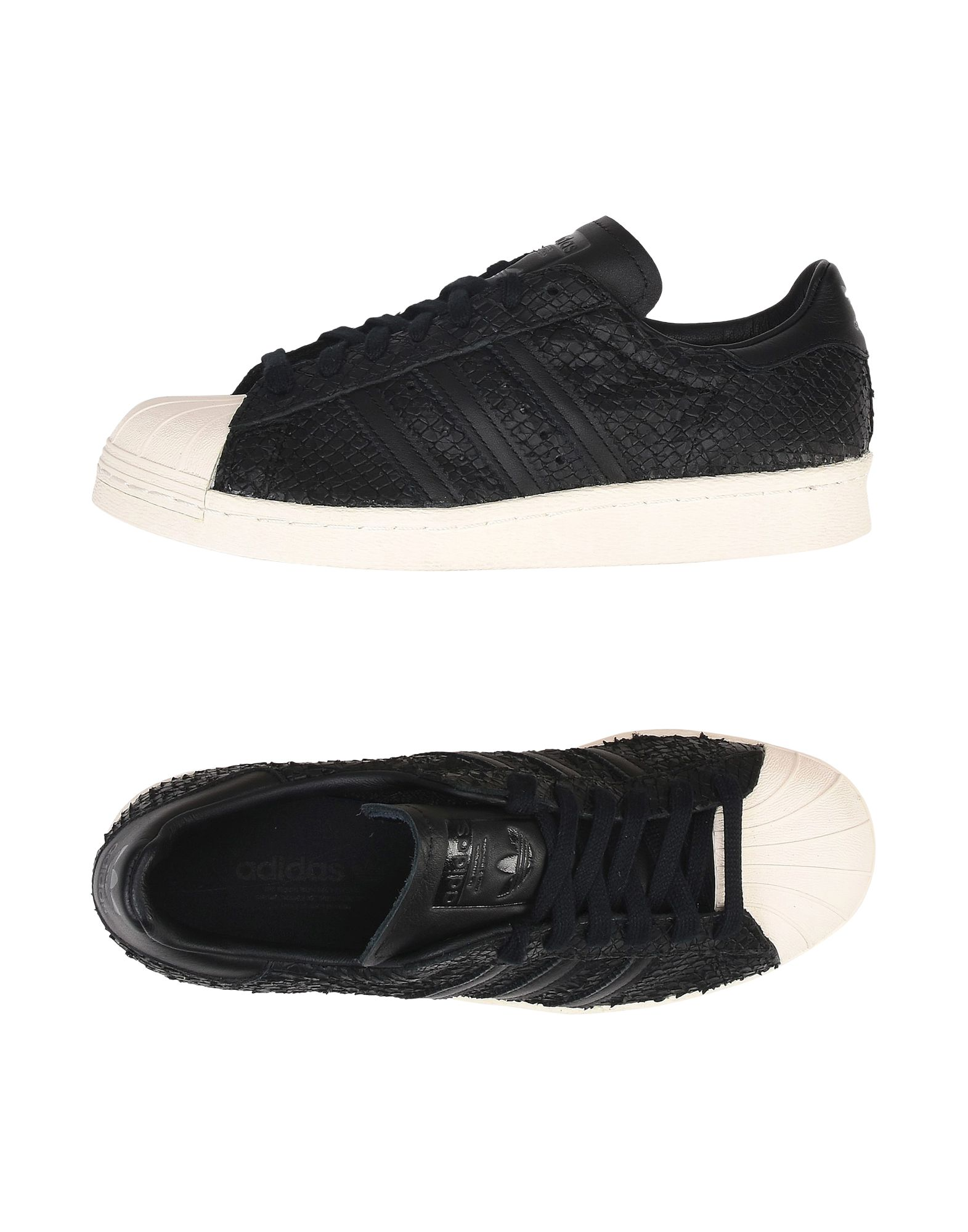 Baskets Adidas Originals Superstar 80S W - Femme - Baskets Adidas Originals Noir Remise de marque