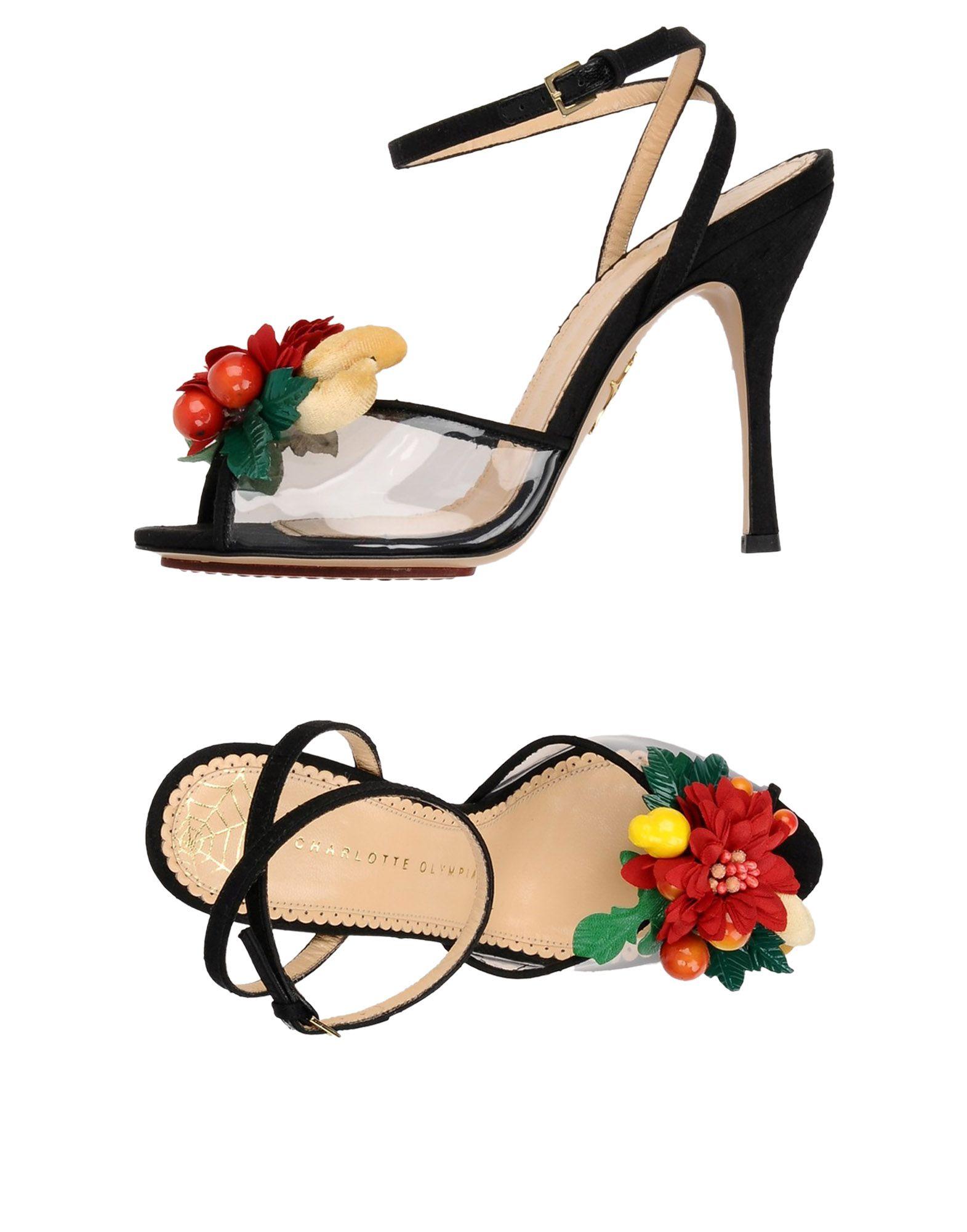 Charlotte Olympia Sandalen gut Damen  11385829NIGünstige gut Sandalen aussehende Schuhe ee0007