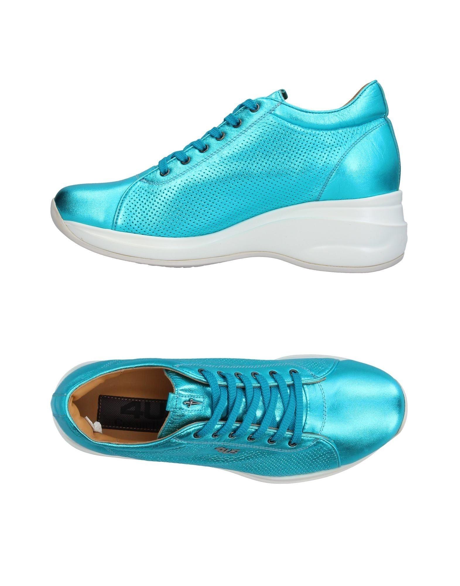 Los zapatos más populares Paciotti para hombres y mujeres Zapatillas Cesare Paciotti populares 4Us Mujer - Zapatillas Cesare Paciotti 4Us  Azul turquesa 1859fd