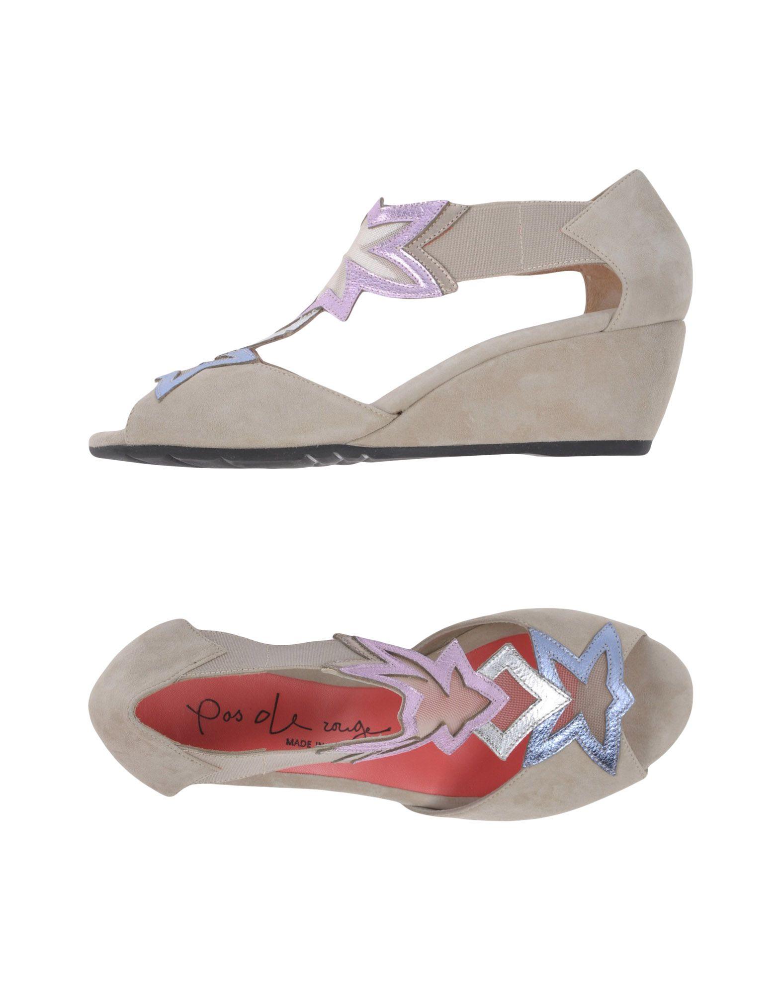 Pas De Rouge Sandalen Damen  11386380TR Gute Qualität beliebte Schuhe