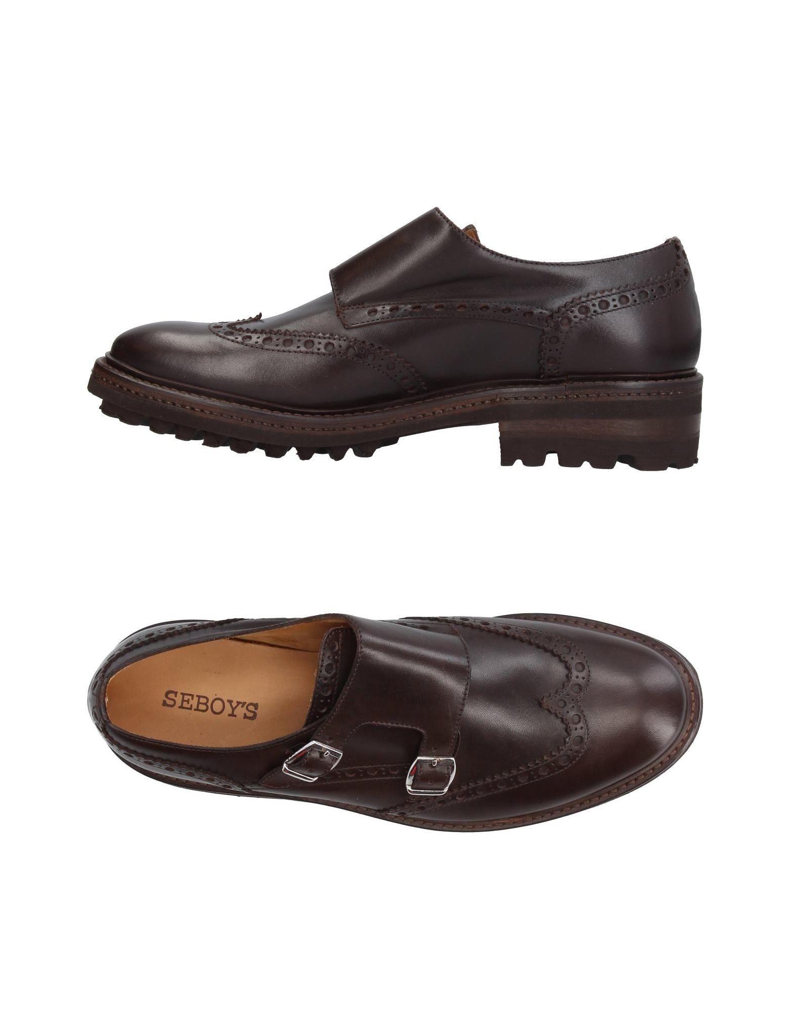 Rabatt echte Schuhe Seboy's Mokassins Herren  11386411VH