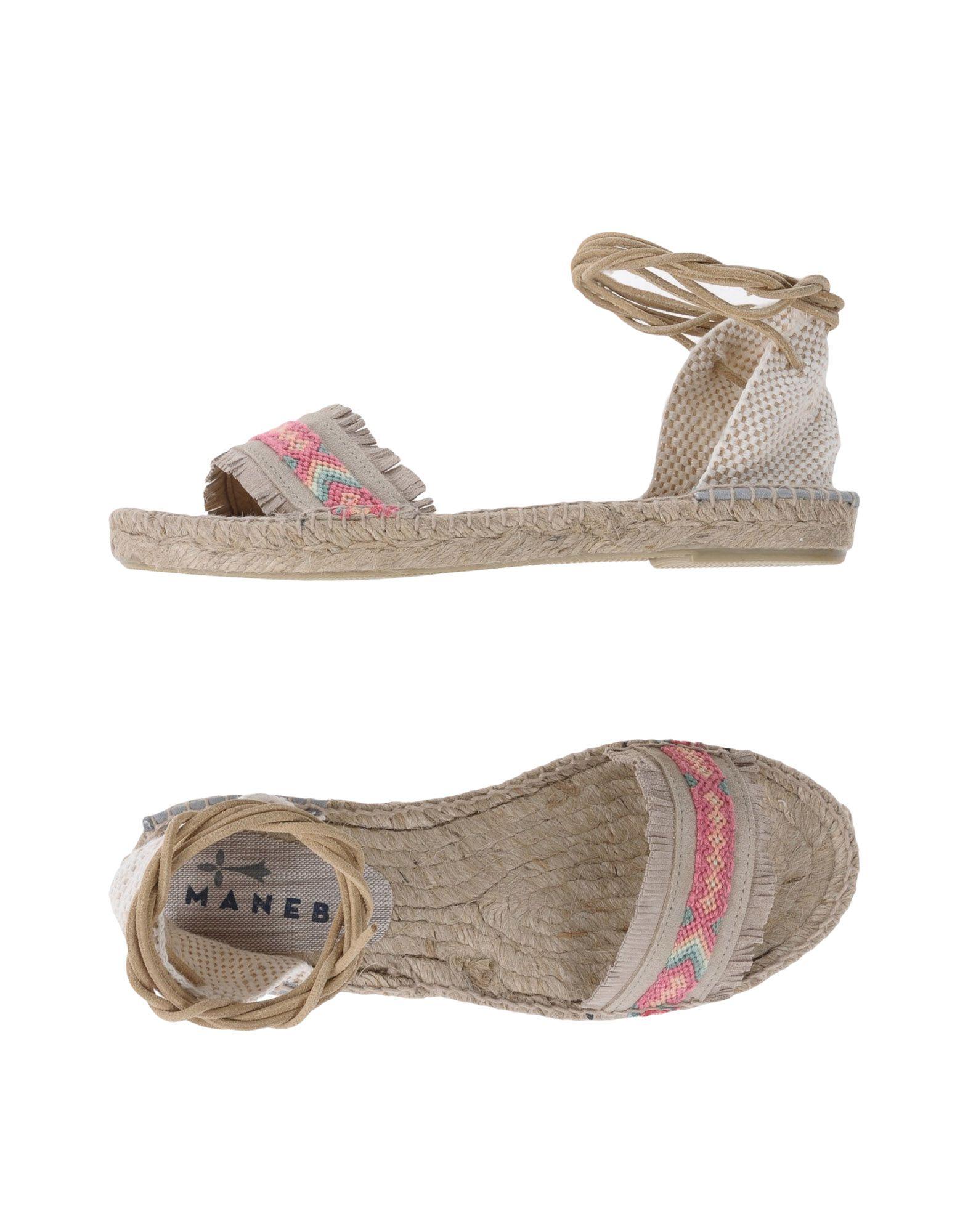 Manebí Espadrilles Damen  Schuhe 11386431SI Heiße Schuhe  9e2682