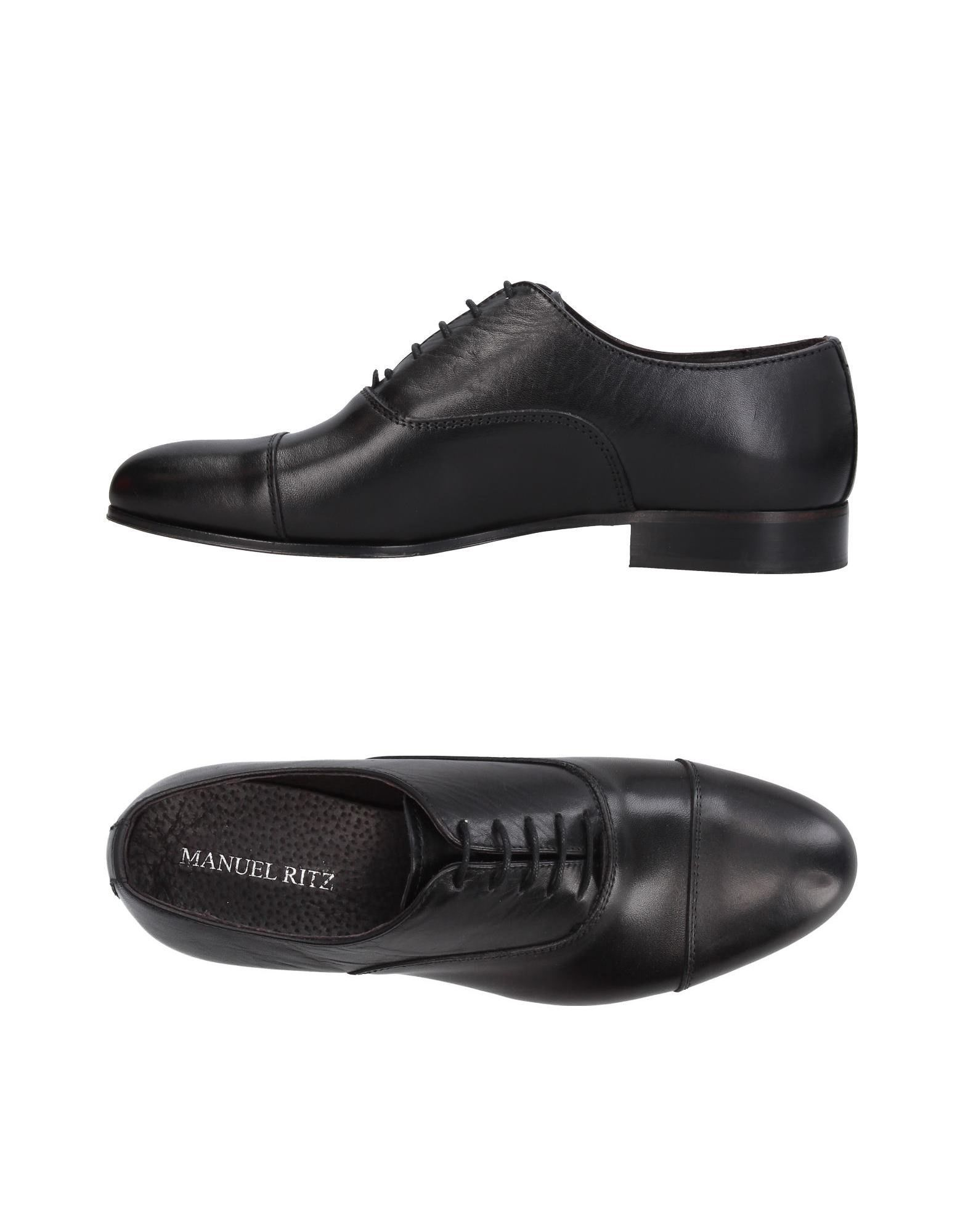 Rabatt echte Schuhe Manuel Ritz Schnürschuhe Herren  11386701MM
